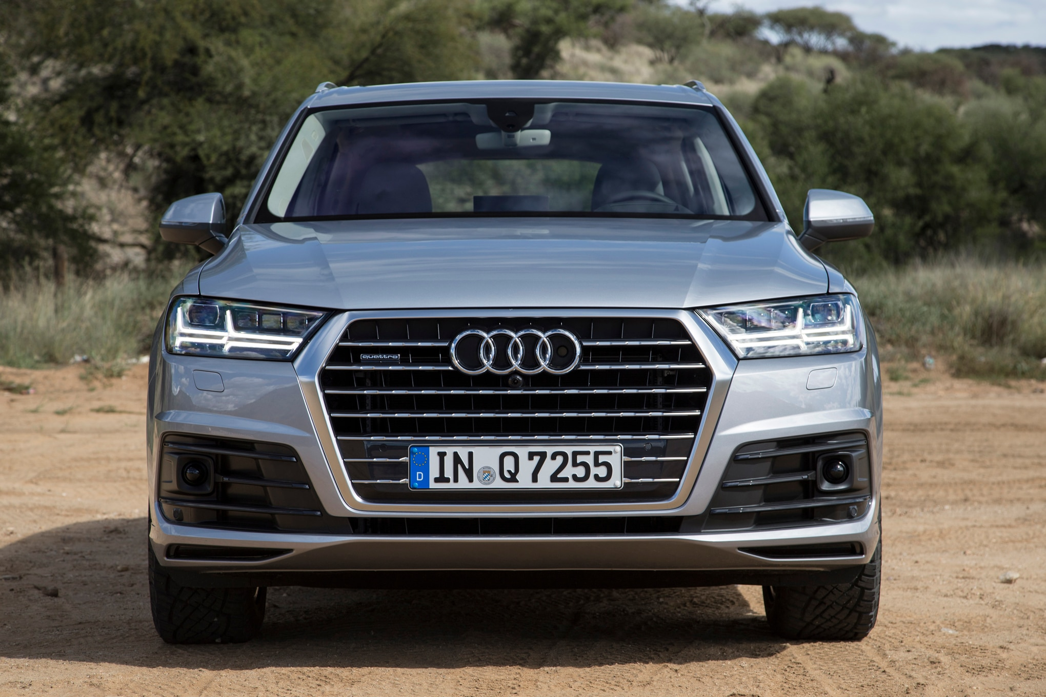 en first trend audi front in three motor drive news quarters