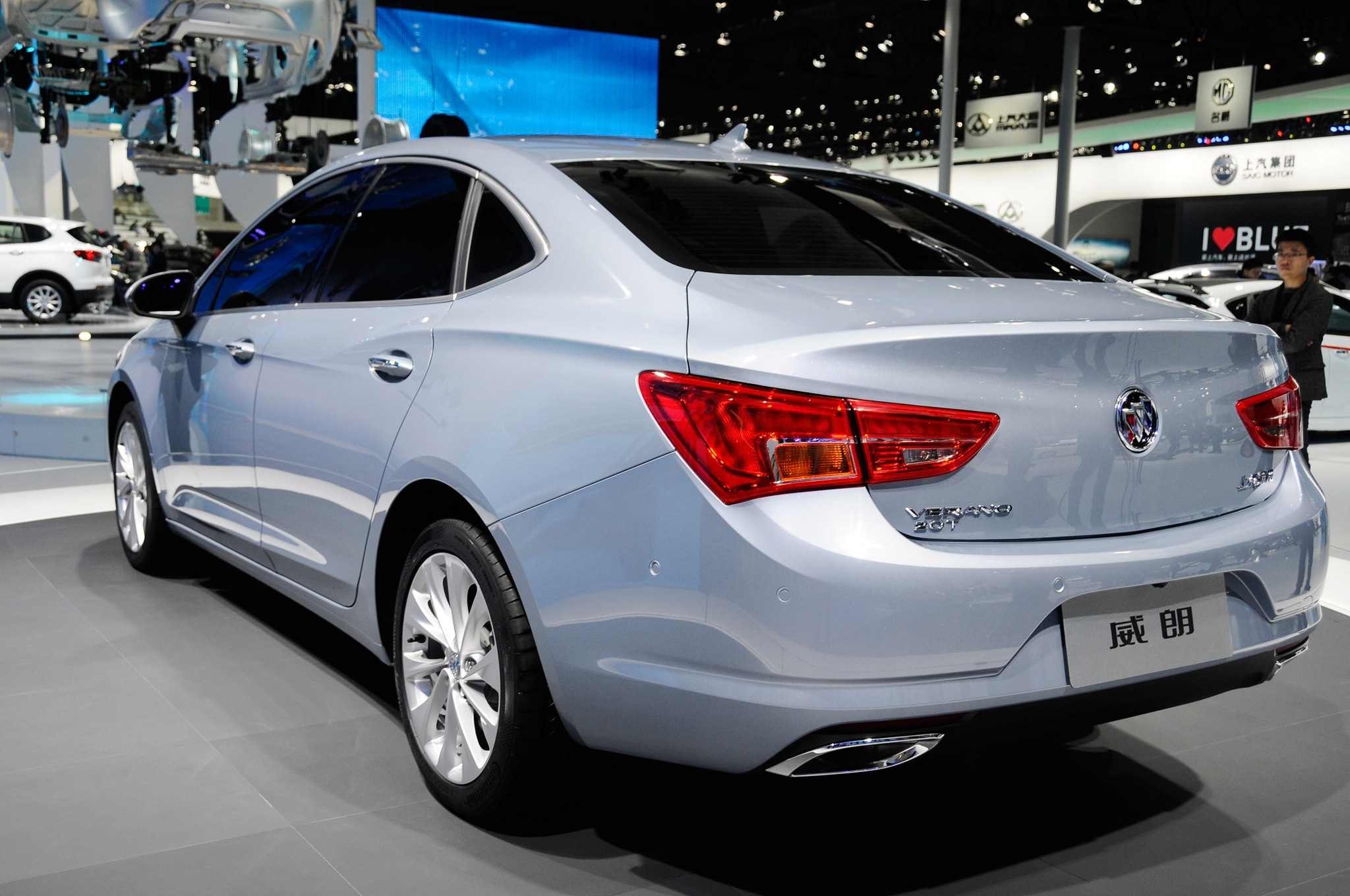 2016 buick verano debuts in chinese market form in shanghai. Black Bedroom Furniture Sets. Home Design Ideas