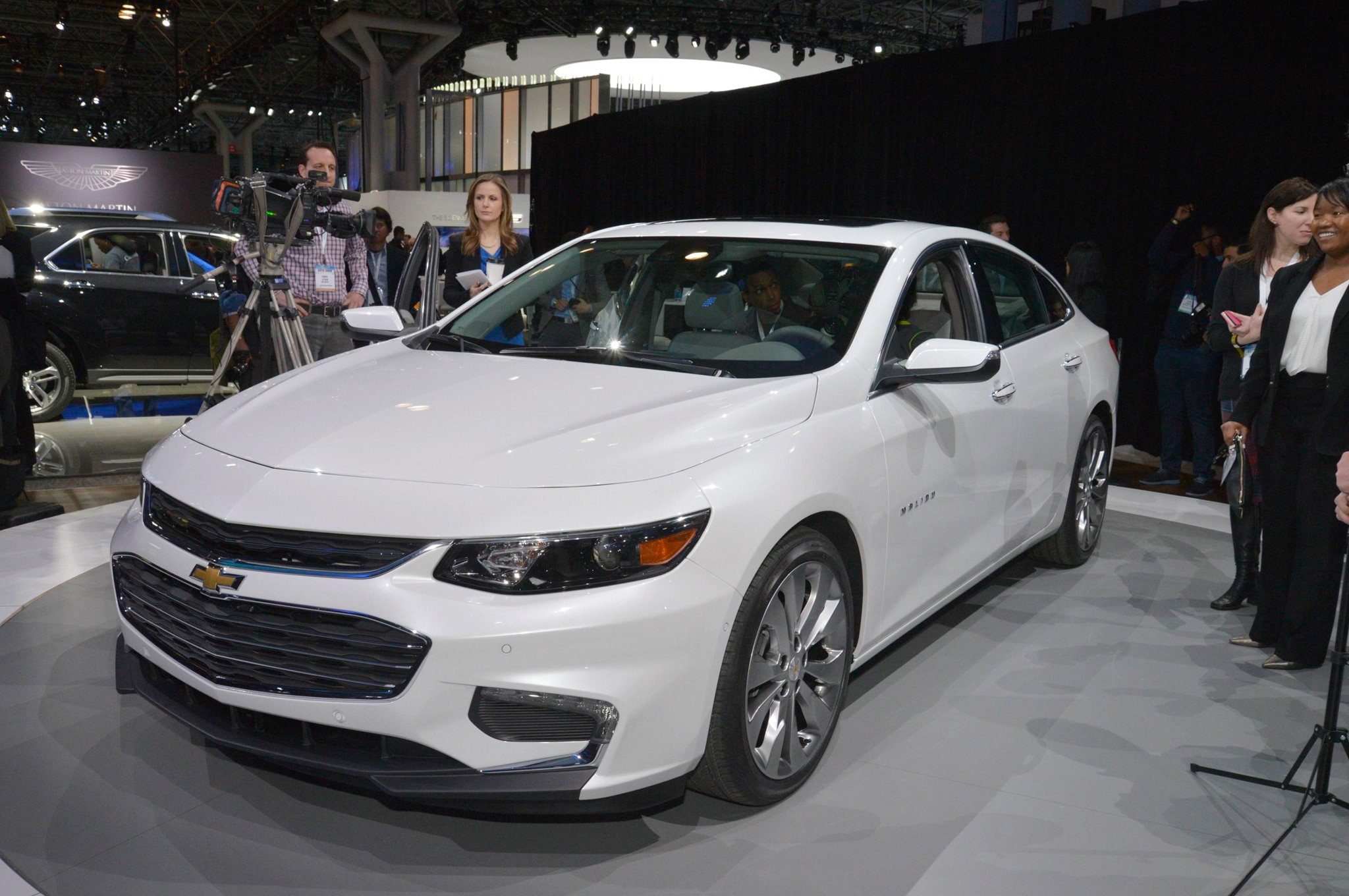 2016 Chevrolet Malibu Bows In New York