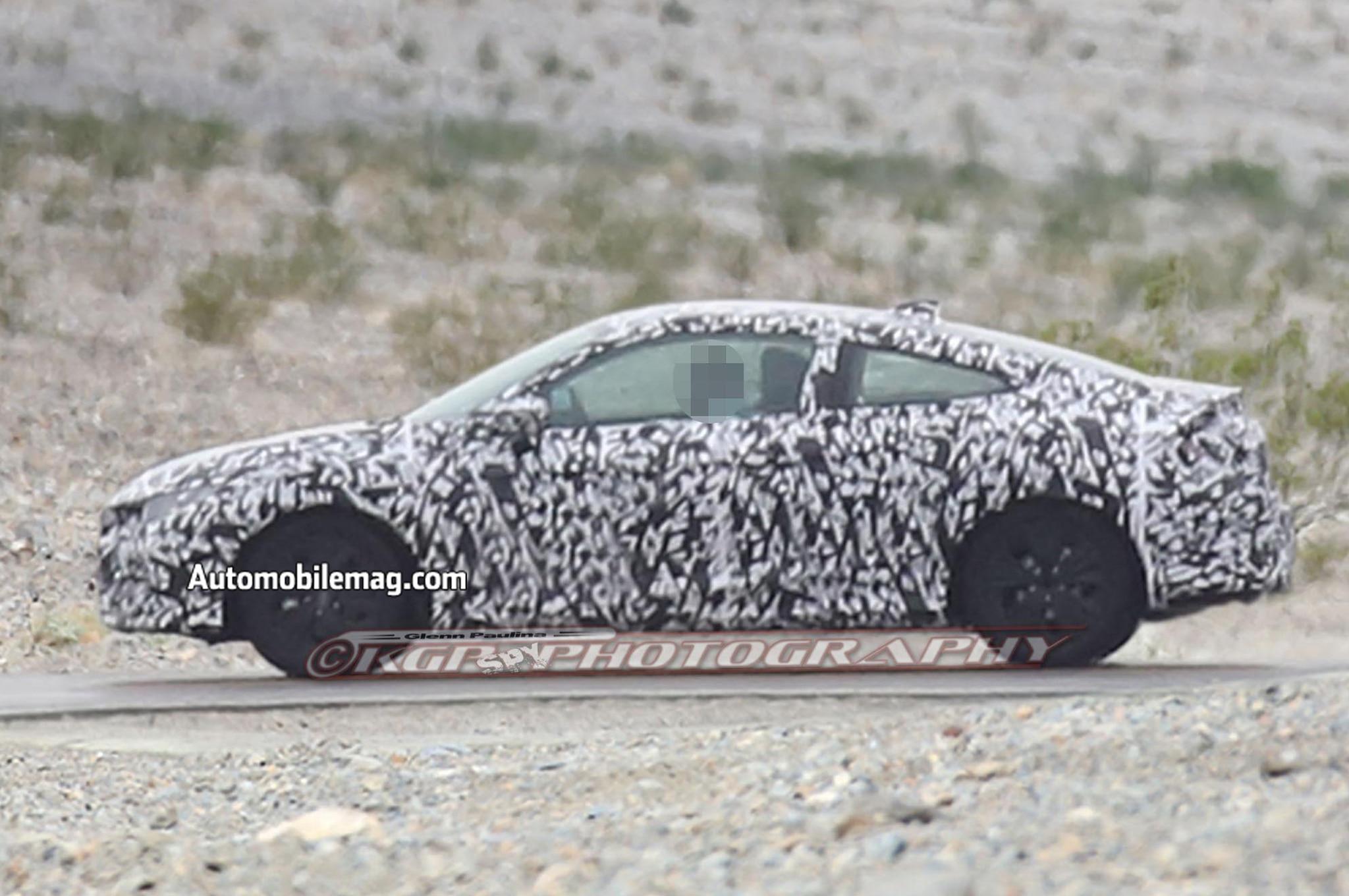 2016 Honda Civic Coupe Prototype Side Profile 01