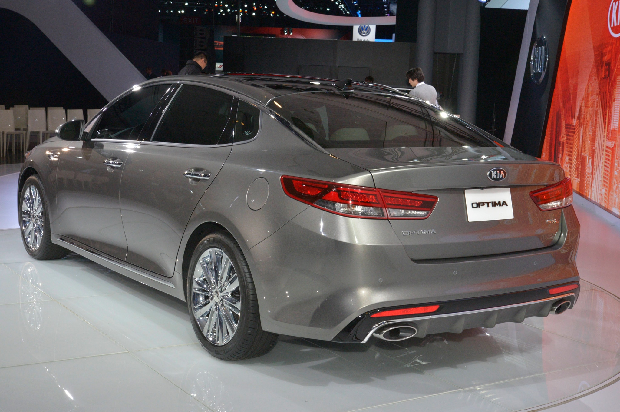 2016 Kia Optima Bows At New York Auto Show