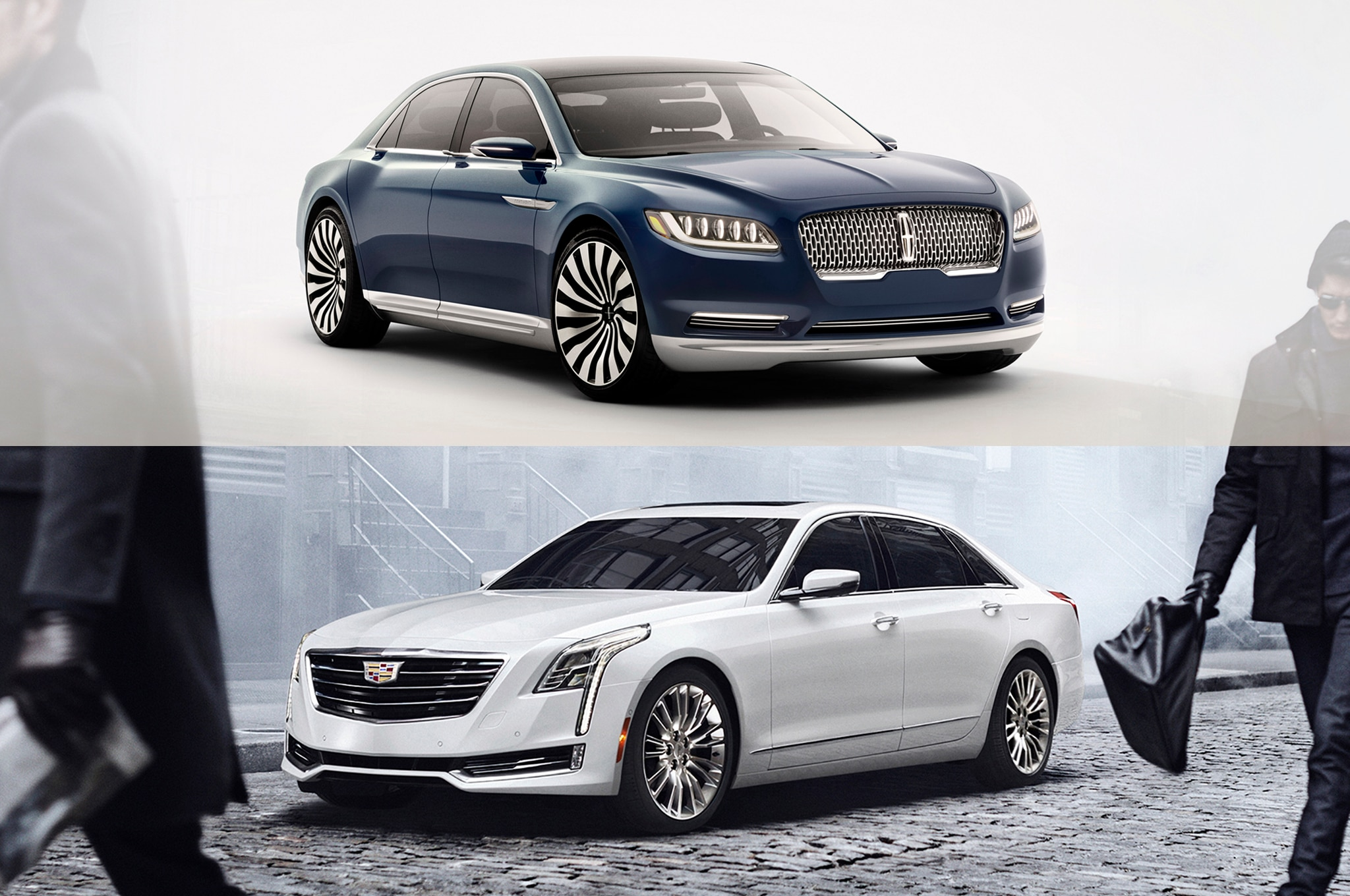 American Luxury Face Off Cadillac Ct6 Vs Lincoln