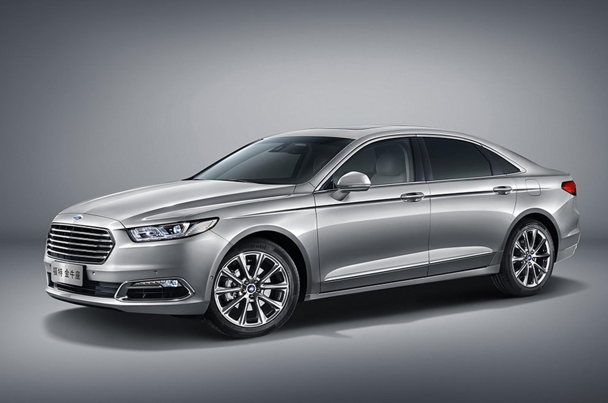 1|8 & 2016 Ford Taurus Revealed for China markmcfarlin.com