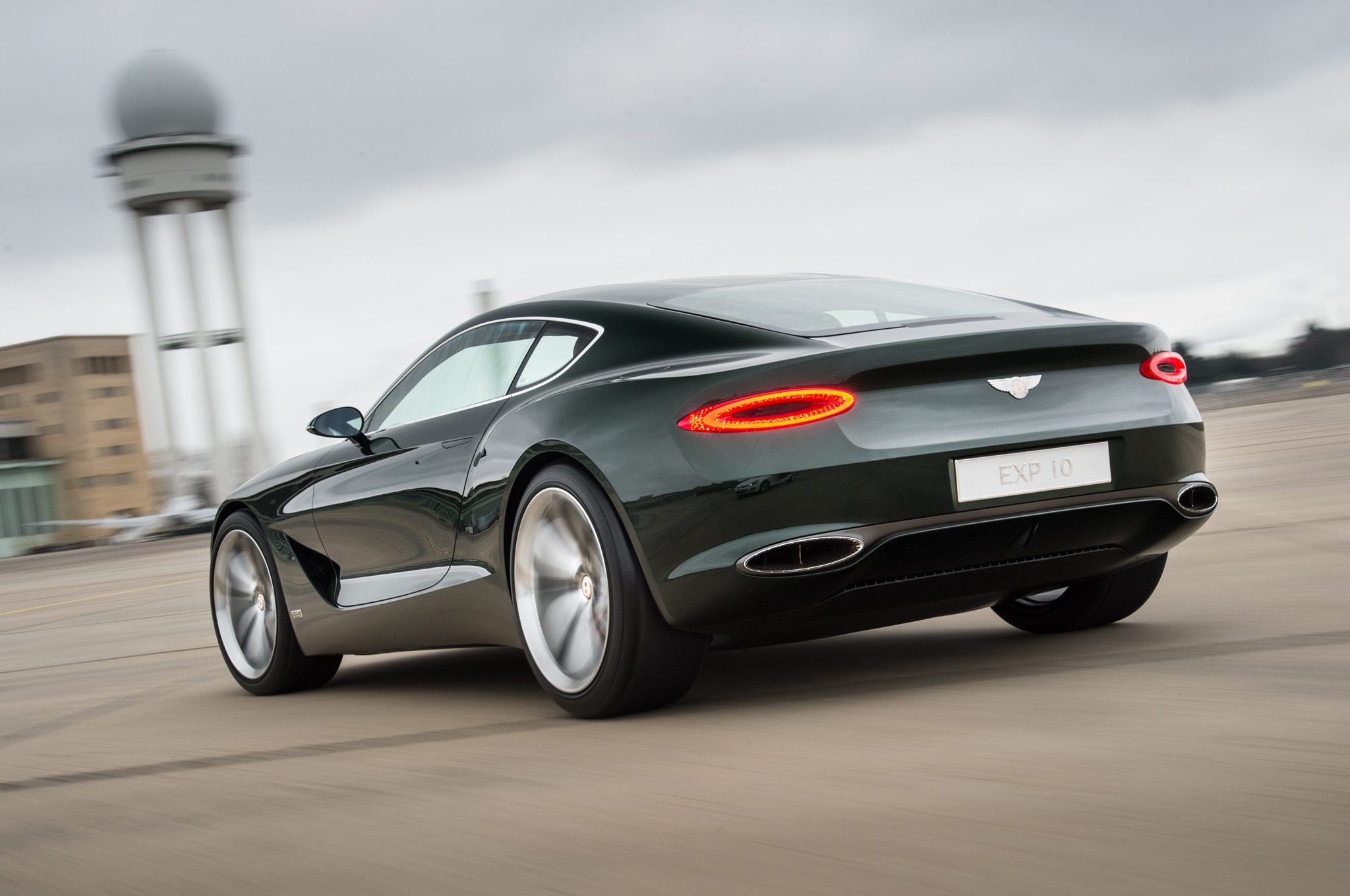 World Exclusive: At the Wheel of the Bentley EXP 10 Speed 6