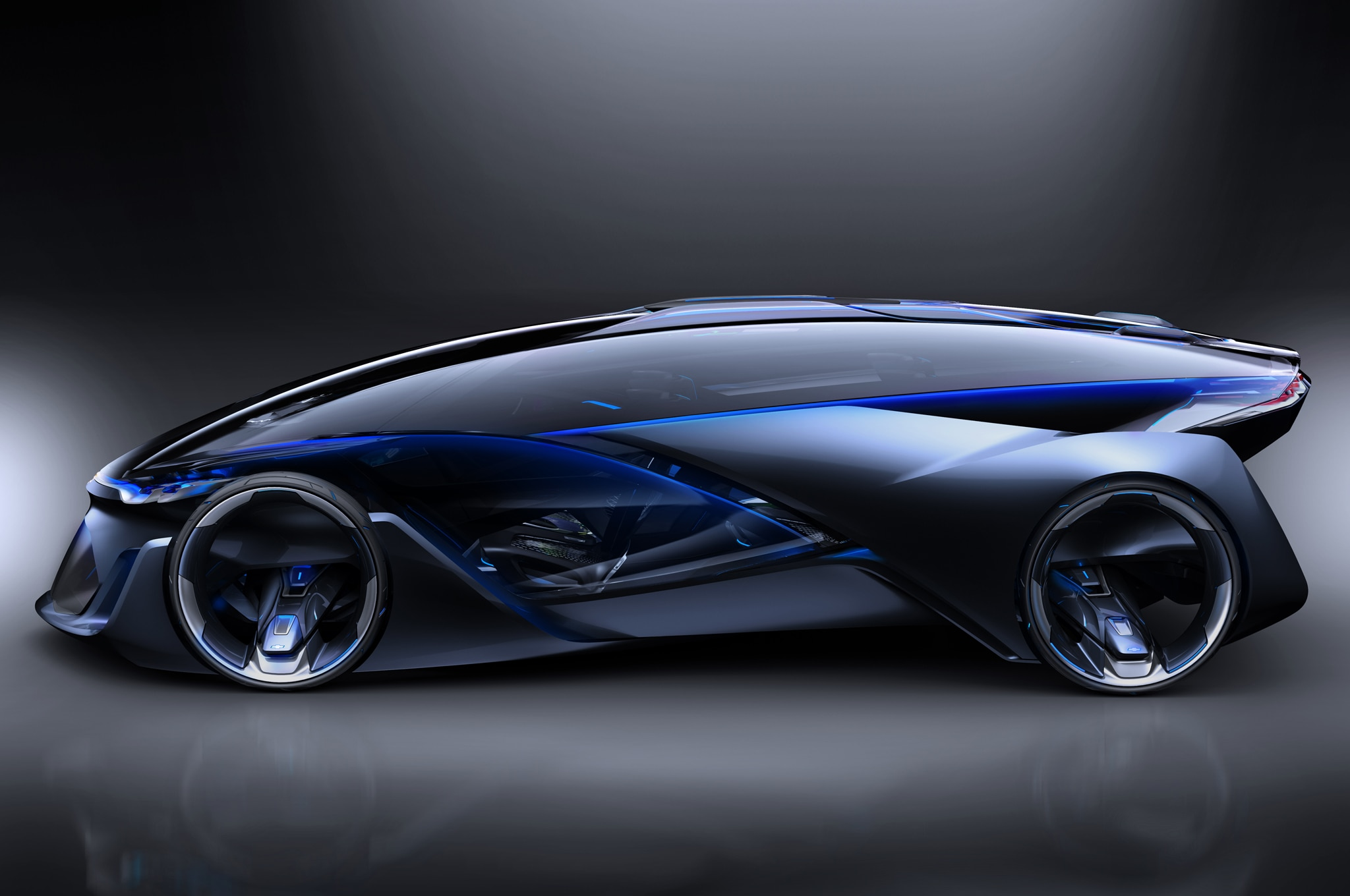 Chevrolet FNR Concept Side Profile