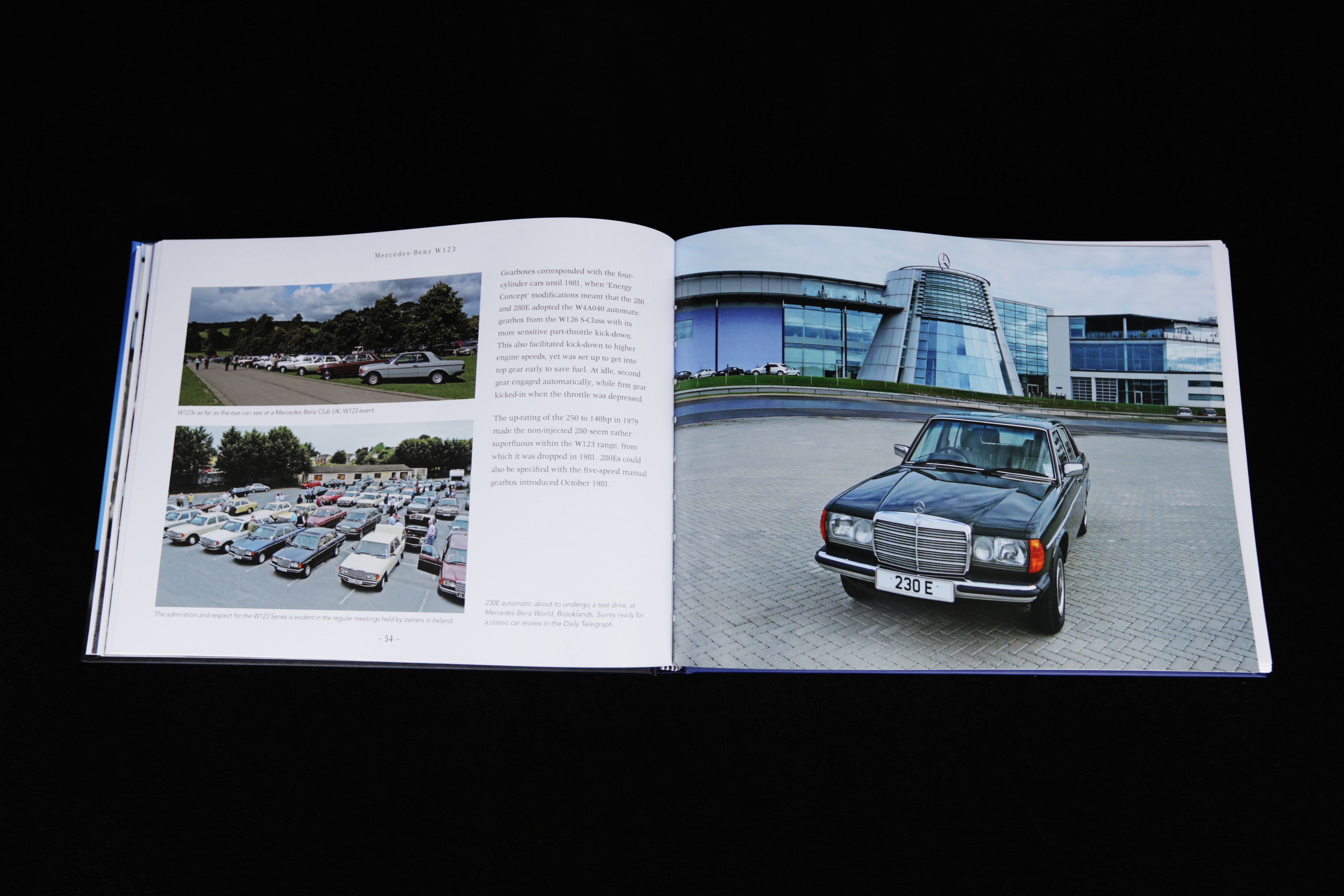 New book tells fascinating history of the mercedes benz w123 for Mercedes benz books