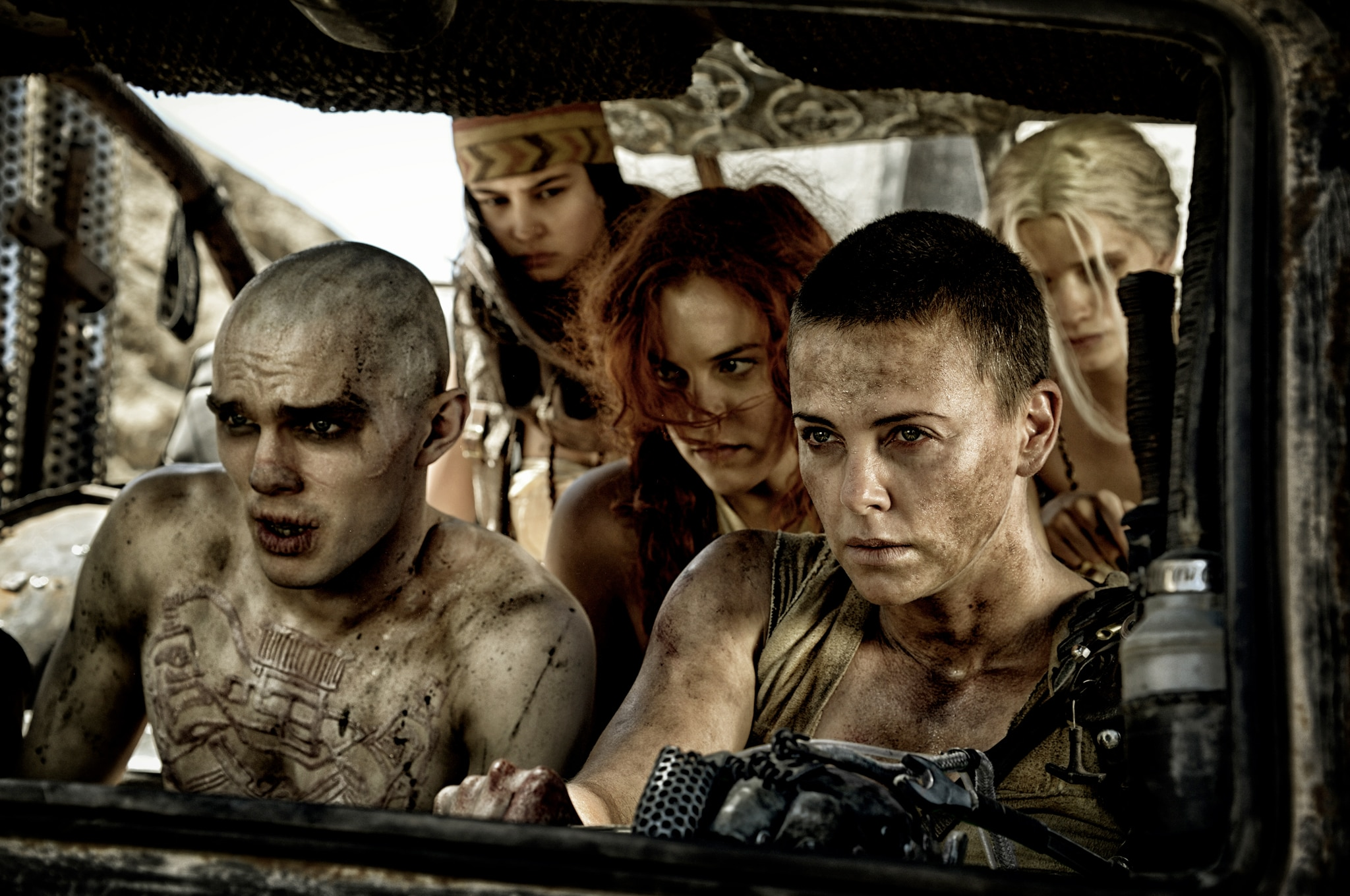 """""""Mad Max: Fury Road"""" hits theaters May 15. Catch the epic trailer and preview action at madmaxmovie.com. Photo courtesy Warner Brothers"""