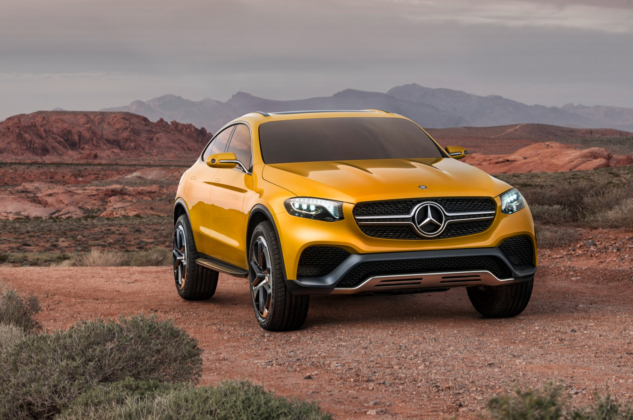 Mercedes Benz Teases New Glc Coupe Ahead Of New York Debut