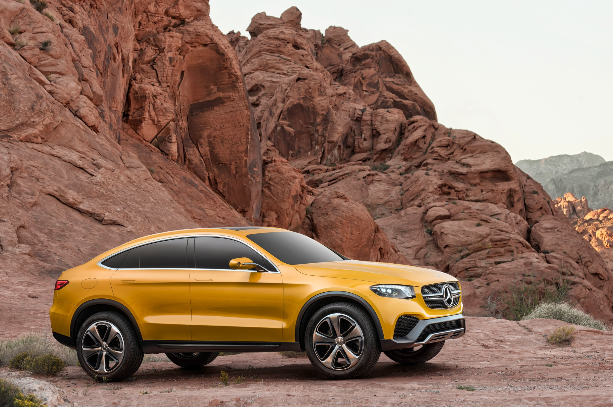 Mercedes benz teases new glc coupe ahead of new york debut for Mercedes benz of new york