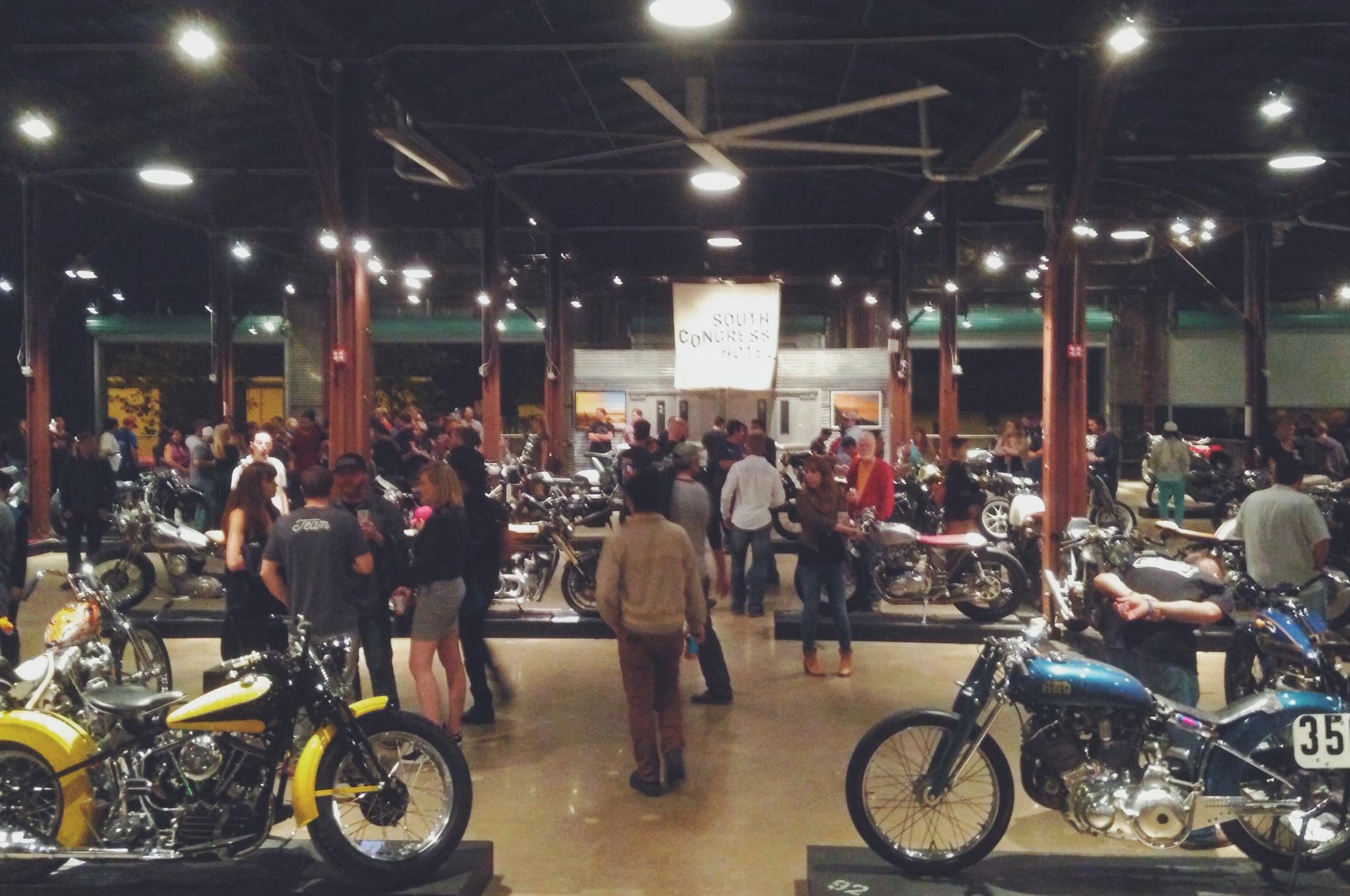 The Handbuilt Motorcycle Show and the COTA MotoGP Race