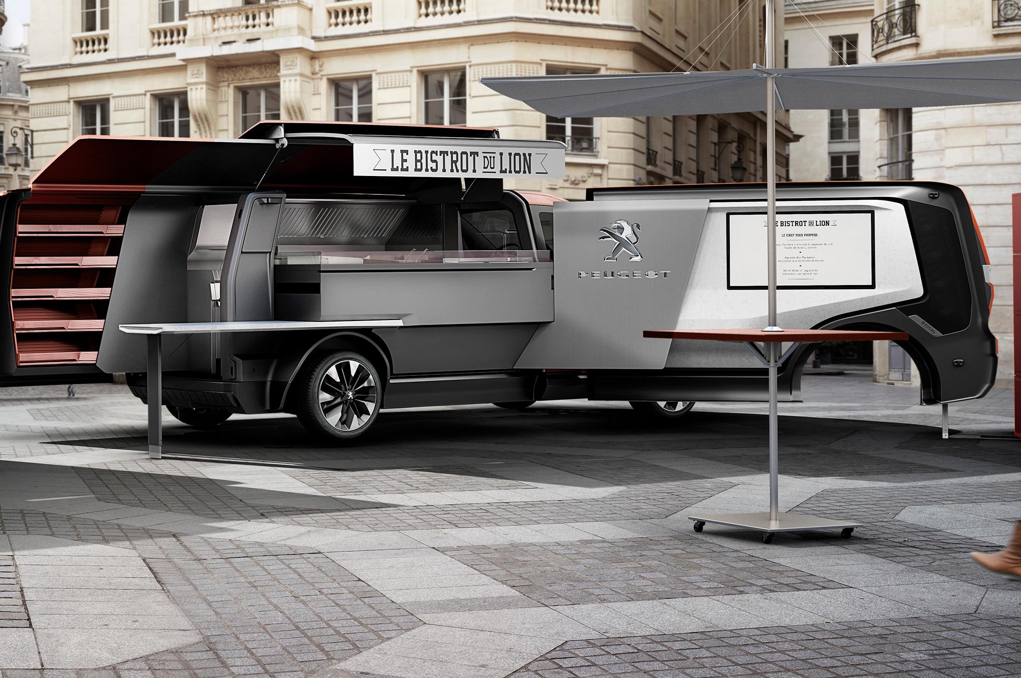 Peugeot Le Bistrot Du Lion Concept Redefines The Food Truck