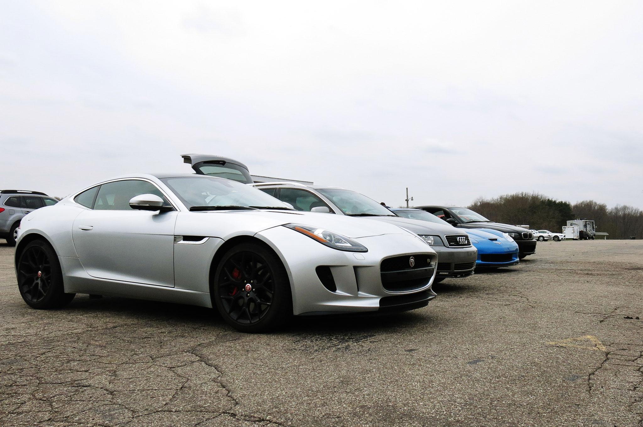 2015 jaguar f type s coupe track night in america. Black Bedroom Furniture Sets. Home Design Ideas