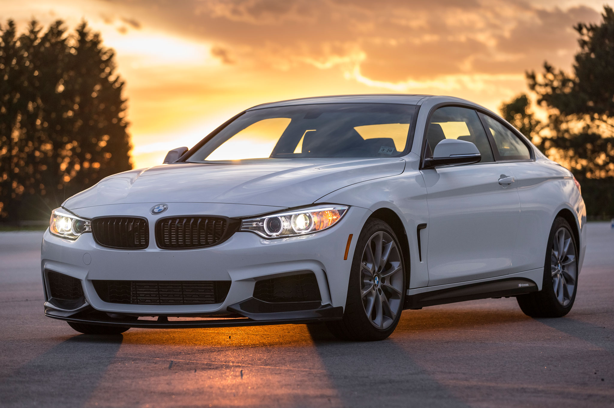 2016 bmw 435i zhp coupe edition gains 35 hp upgraded chassis for 11 435