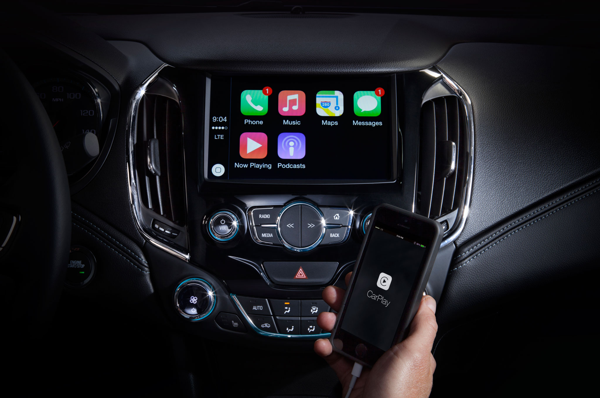 Connectivity features include apple carplay and android auto - 2 2