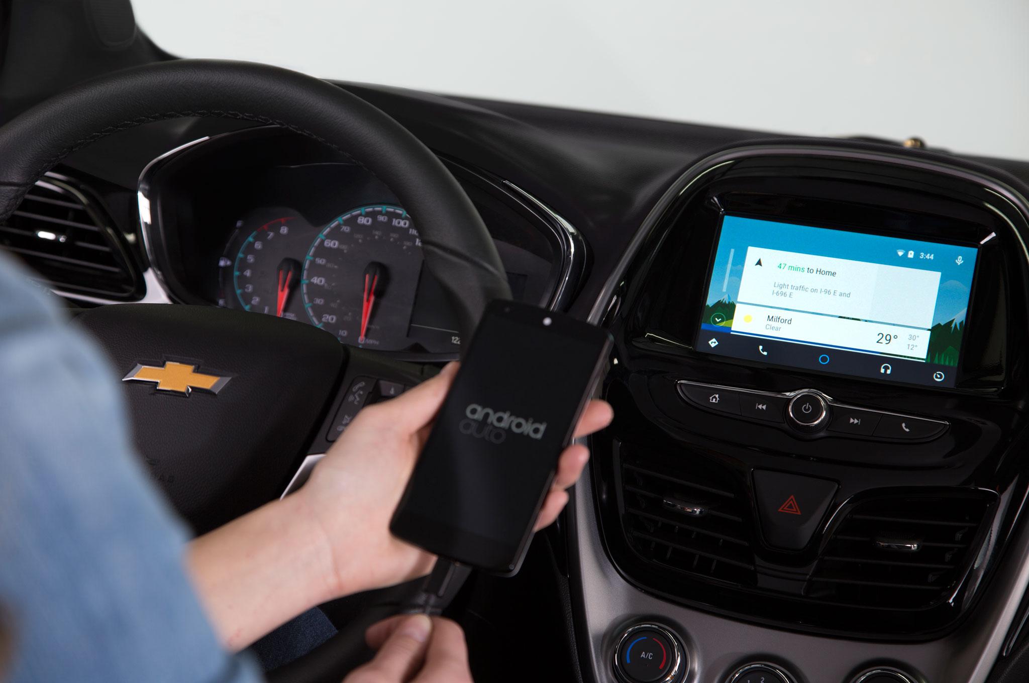 2016 Chevrolet Spark Interior Android Auto