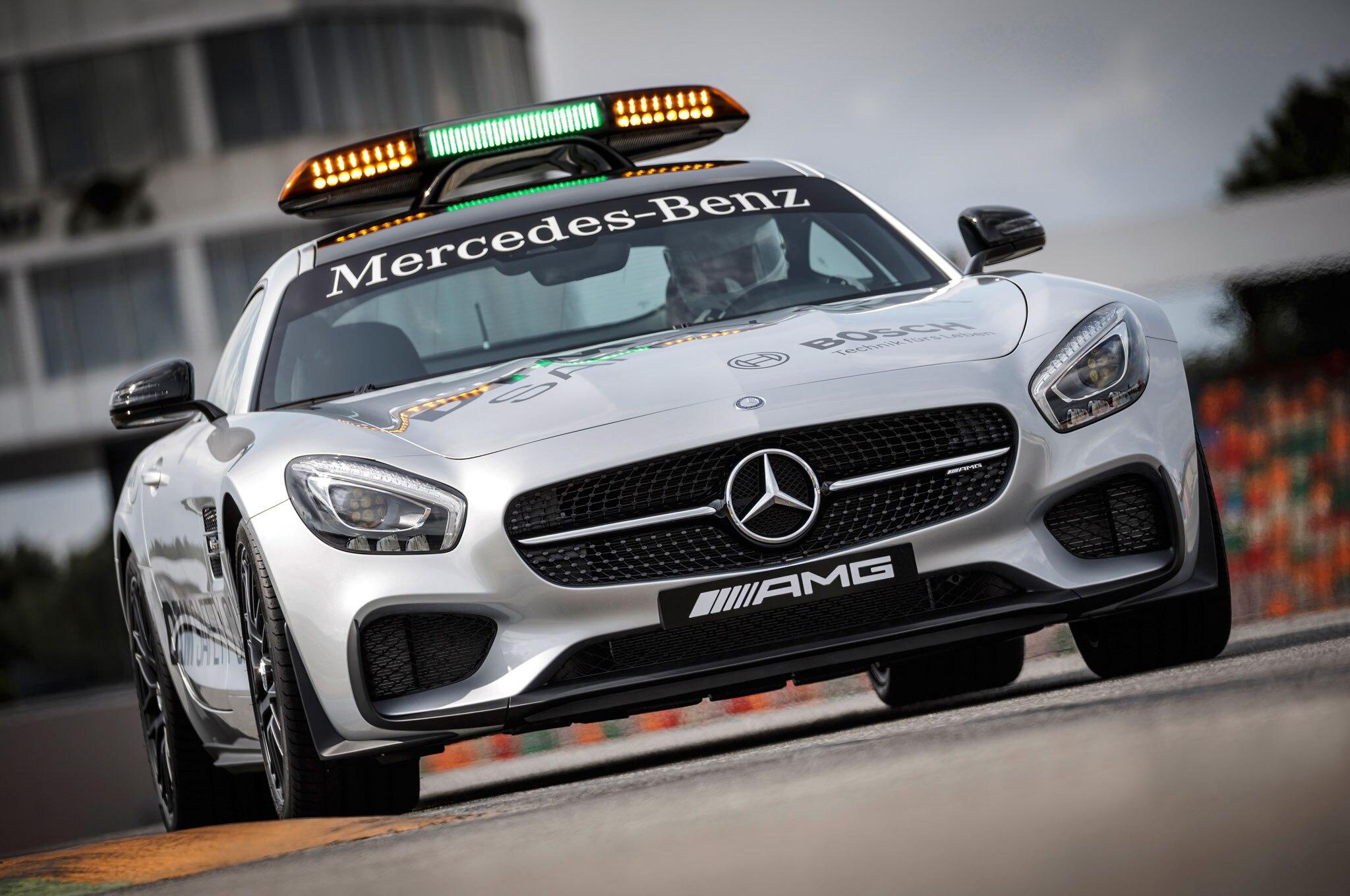 2016 mercedes-amg gt s transformed into dtm safety car
