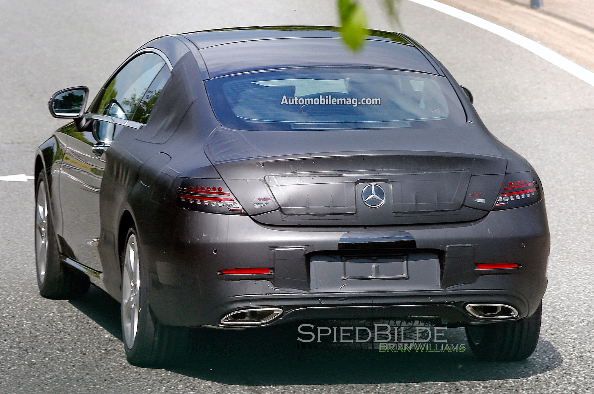 2016 MercedesBenz CClass Coupe Spied Nearly Undisguised