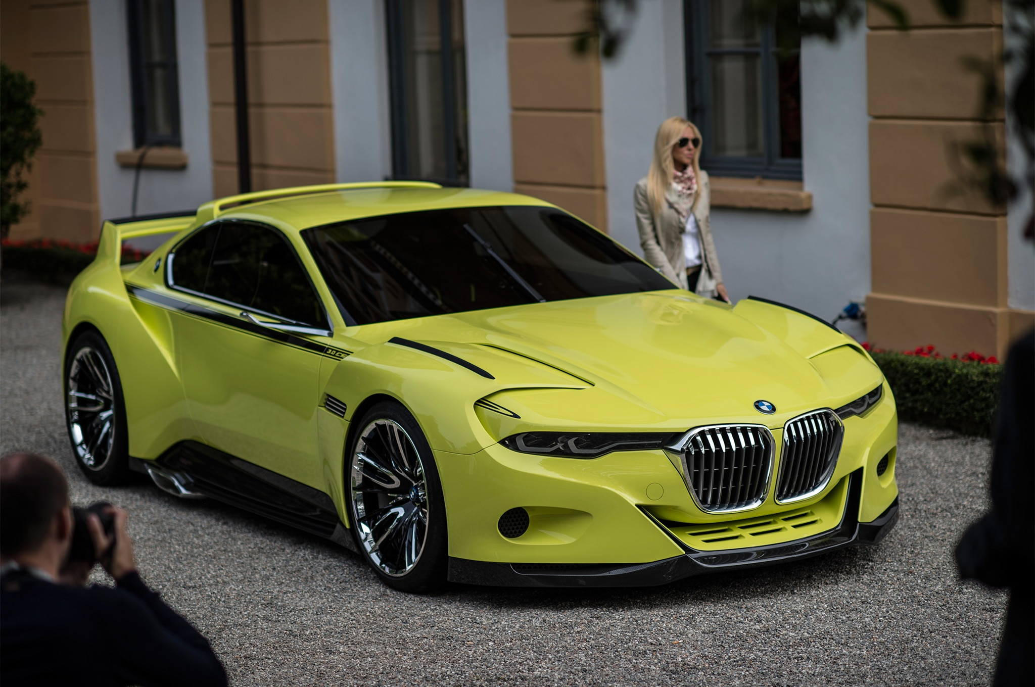 BMW CSL Hommage Concept Revealed At Villa DEste - 3 0 bmw