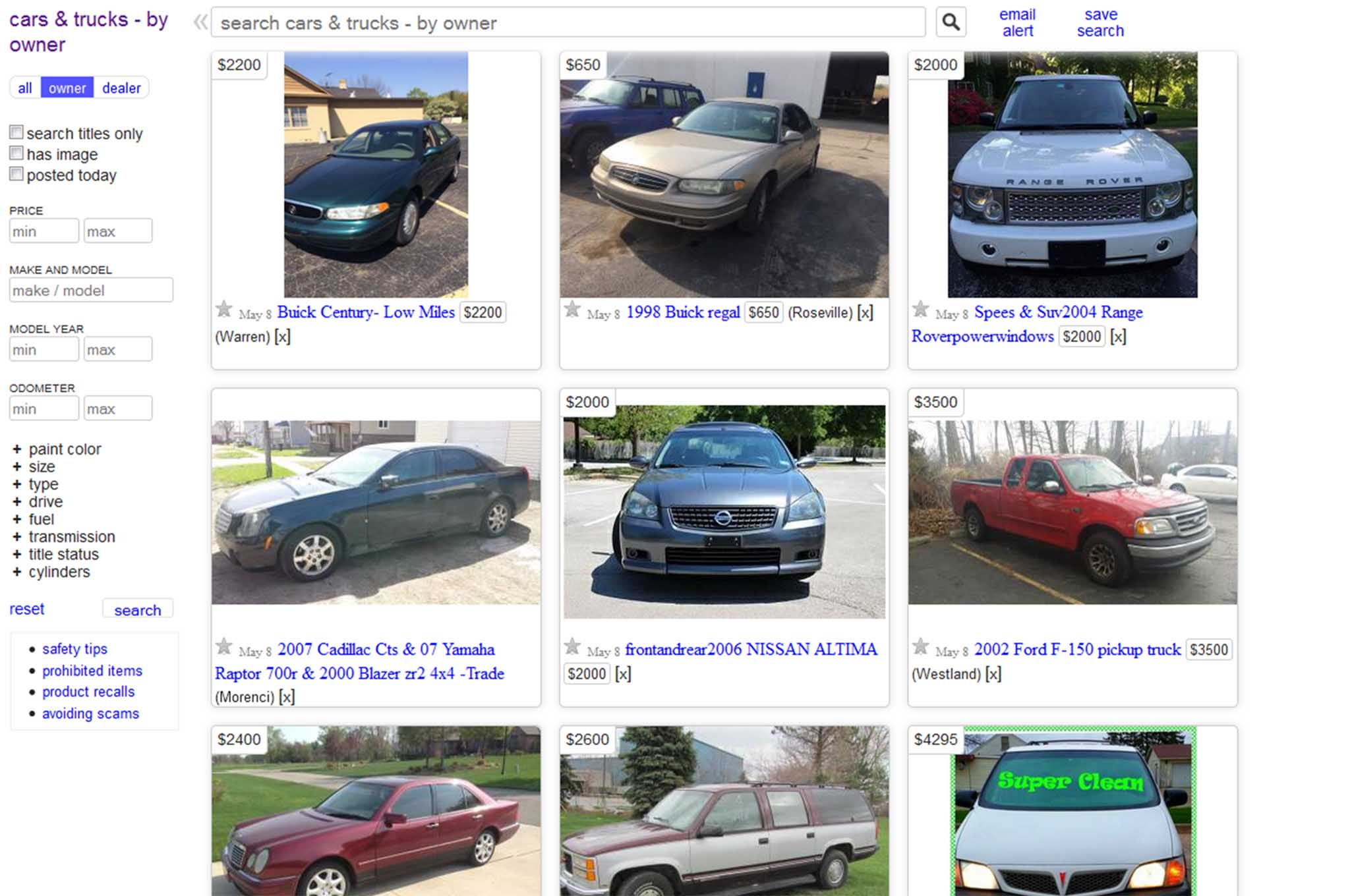 Craigslist Sacramento CA Used Cars Honda Accord Models Popular FS