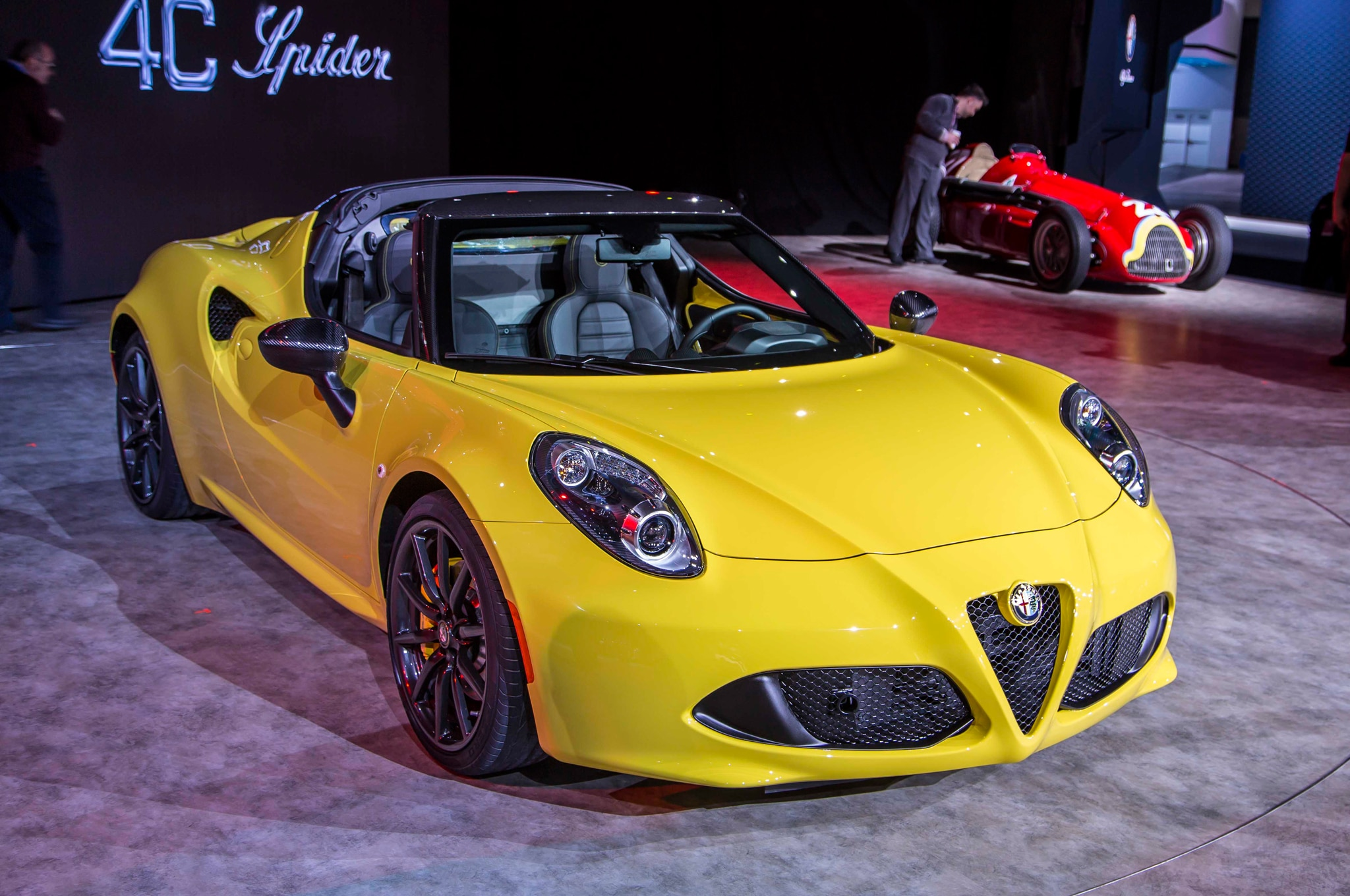 2015 alfa romeo 4c spider priced from 65 495. Black Bedroom Furniture Sets. Home Design Ideas