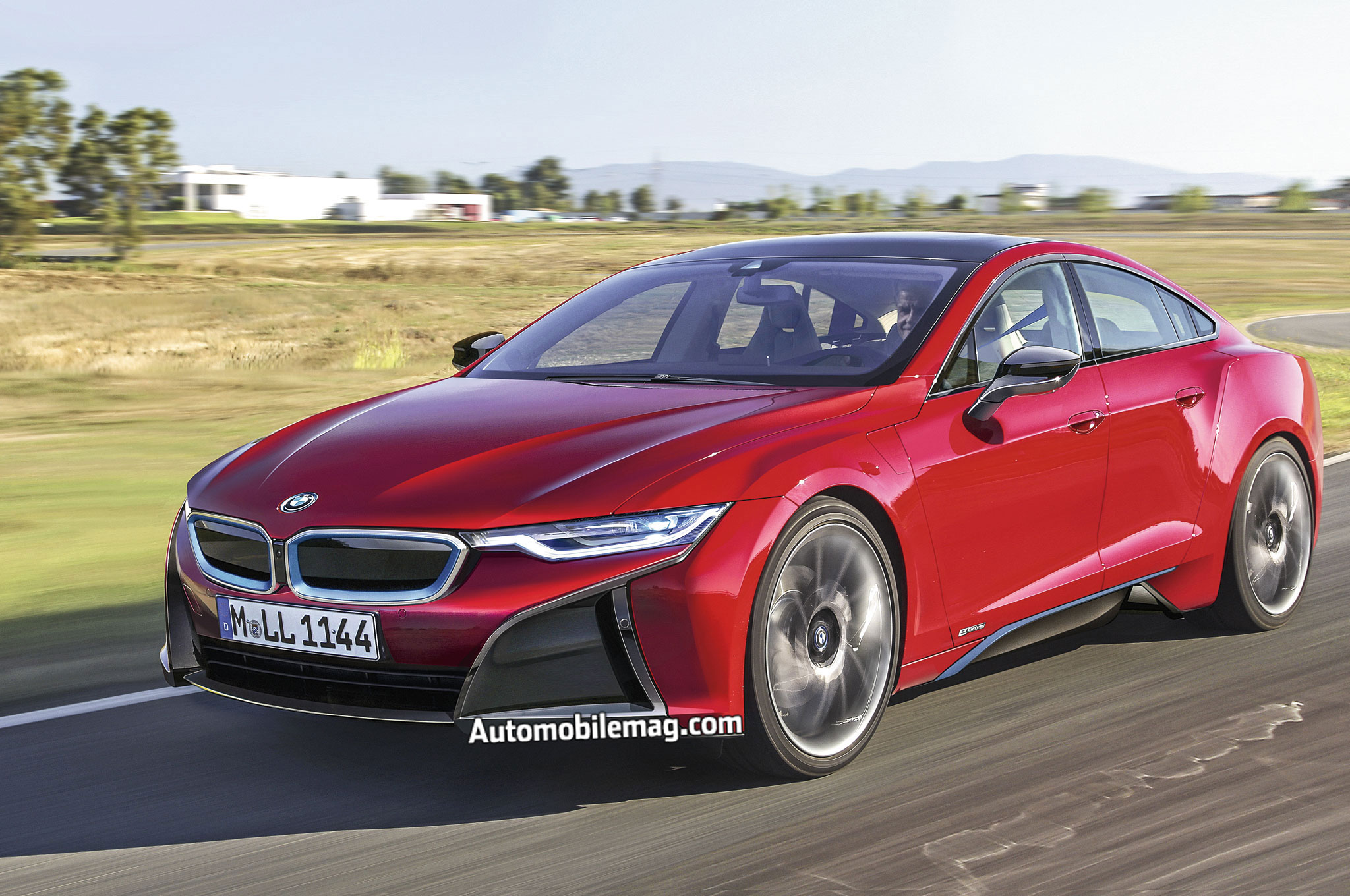 The Bmw I5 Prepares To Take On Tesla S Model S