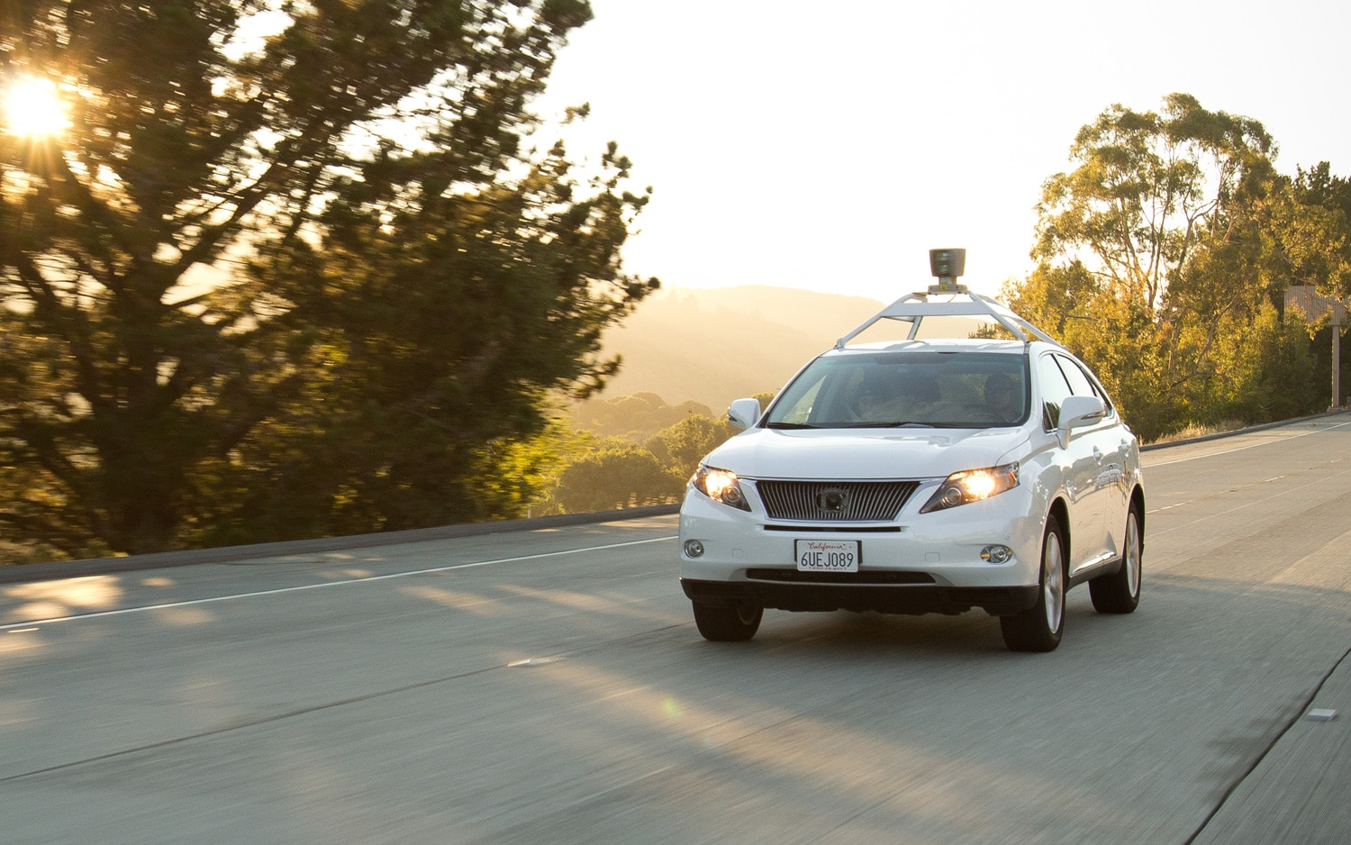 California Dmv Details Google Autonomous Car Accidents
