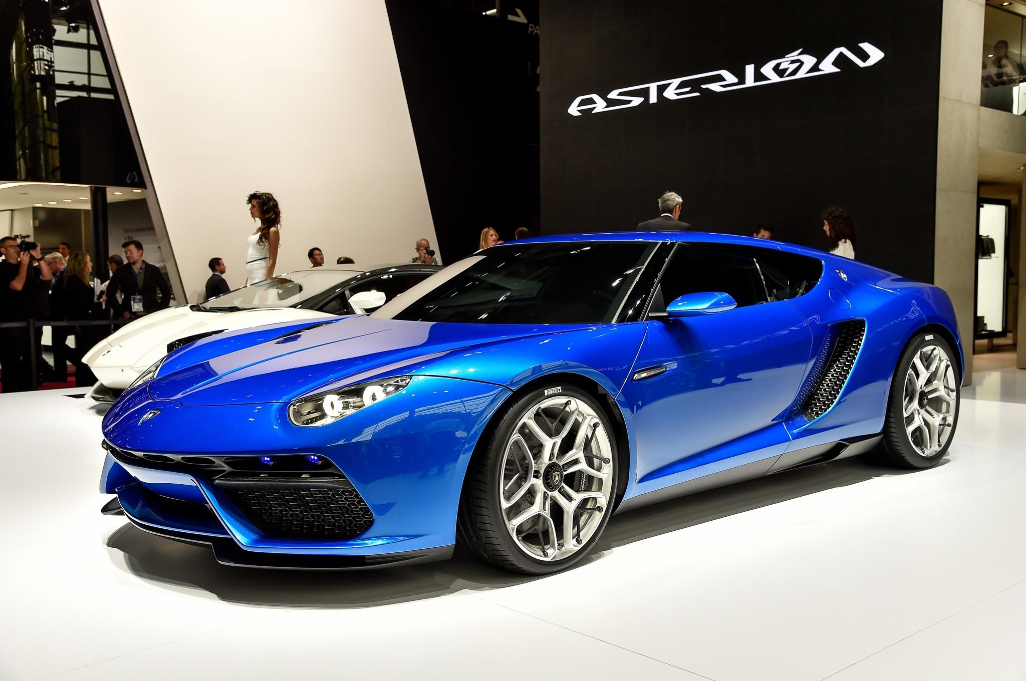 Lamborghini Asterion Concept Front Three Quarter 02