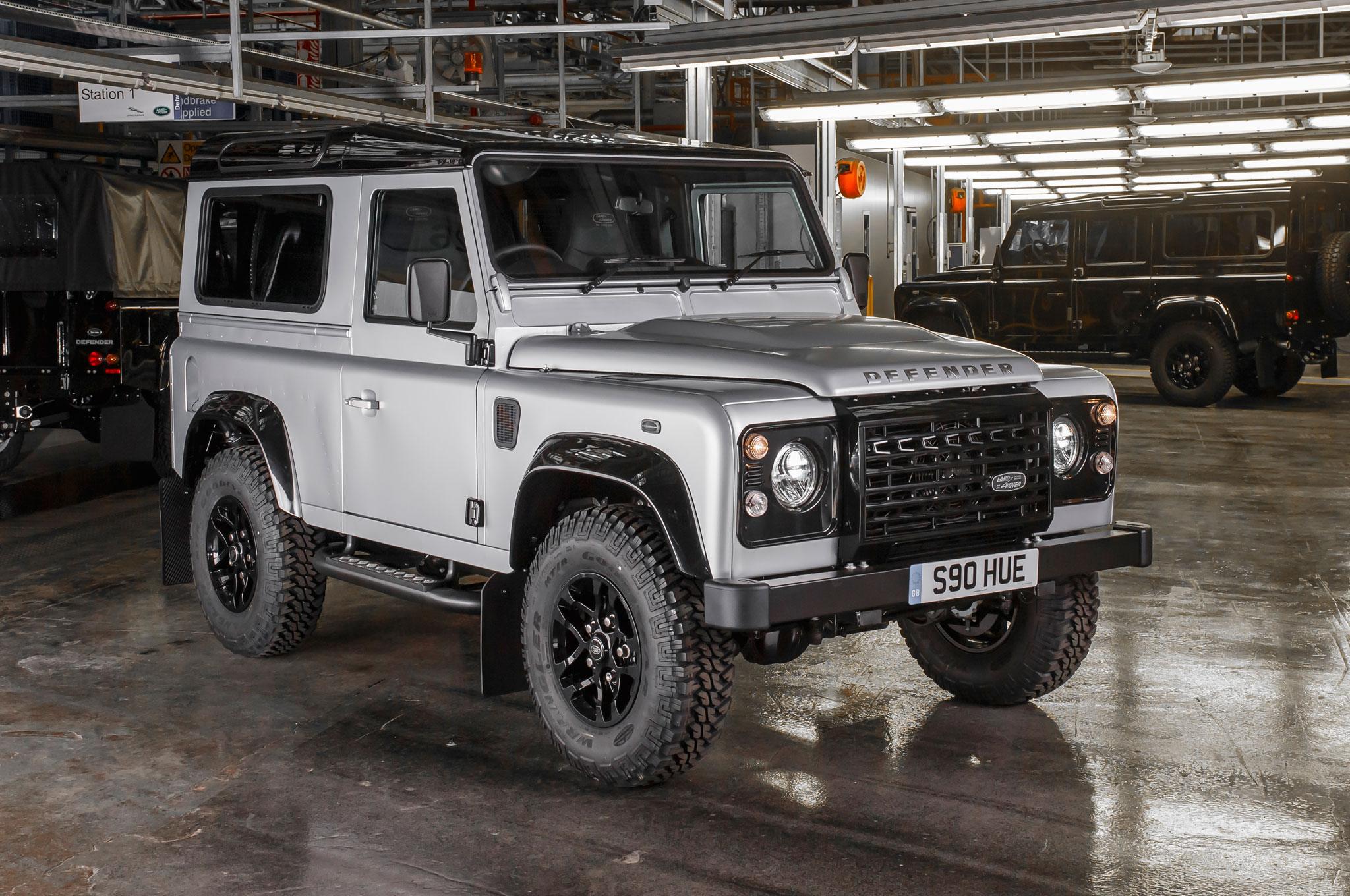 Land Rover Defender 2 Million Front Three Quarter 02