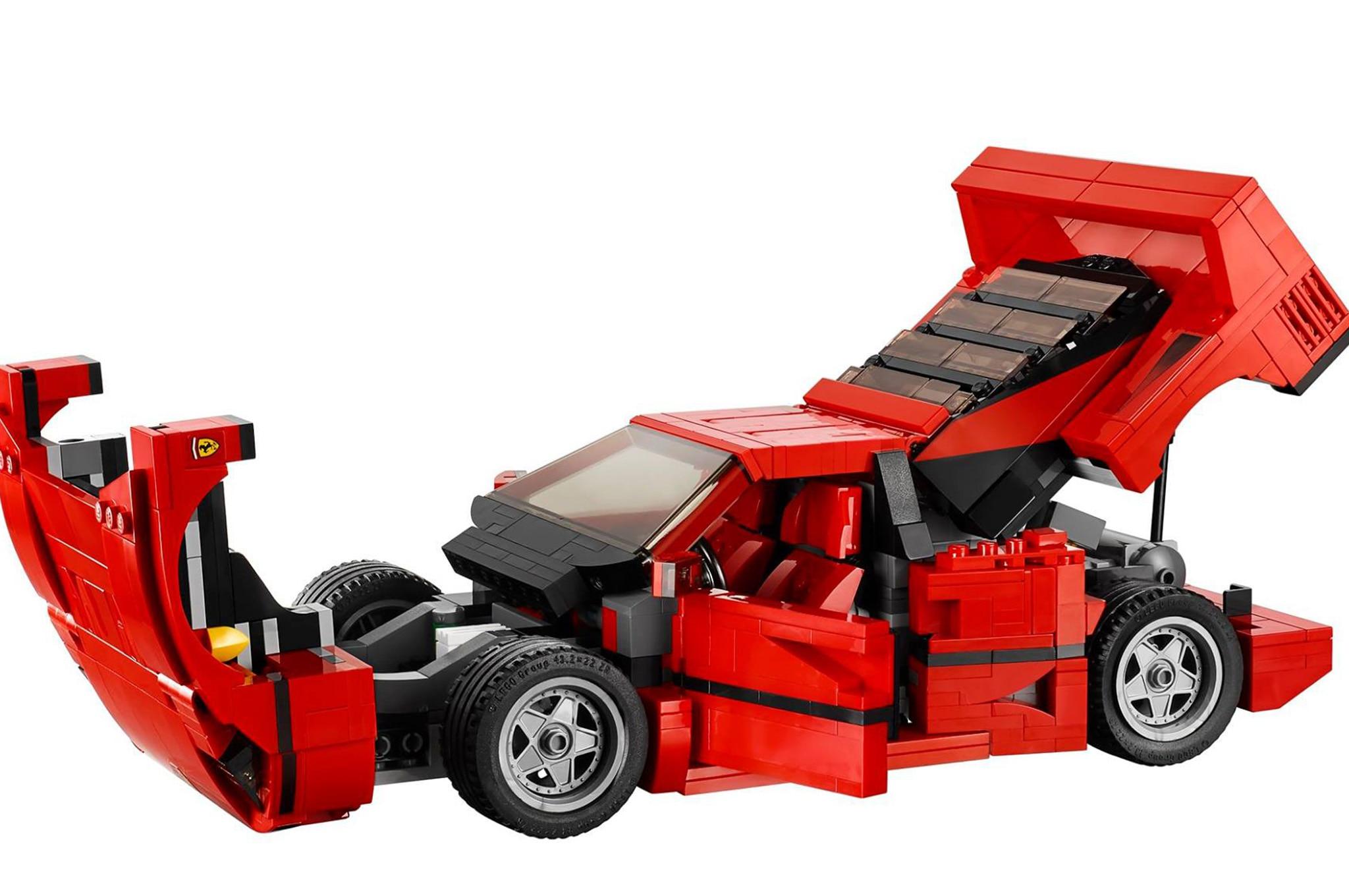Lego Releases Detailed Ferrari F40 Creator Set