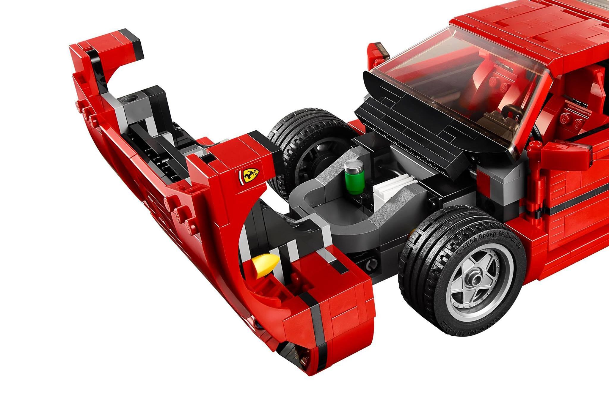 lego releases detailed ferrari f40 creator set. Black Bedroom Furniture Sets. Home Design Ideas