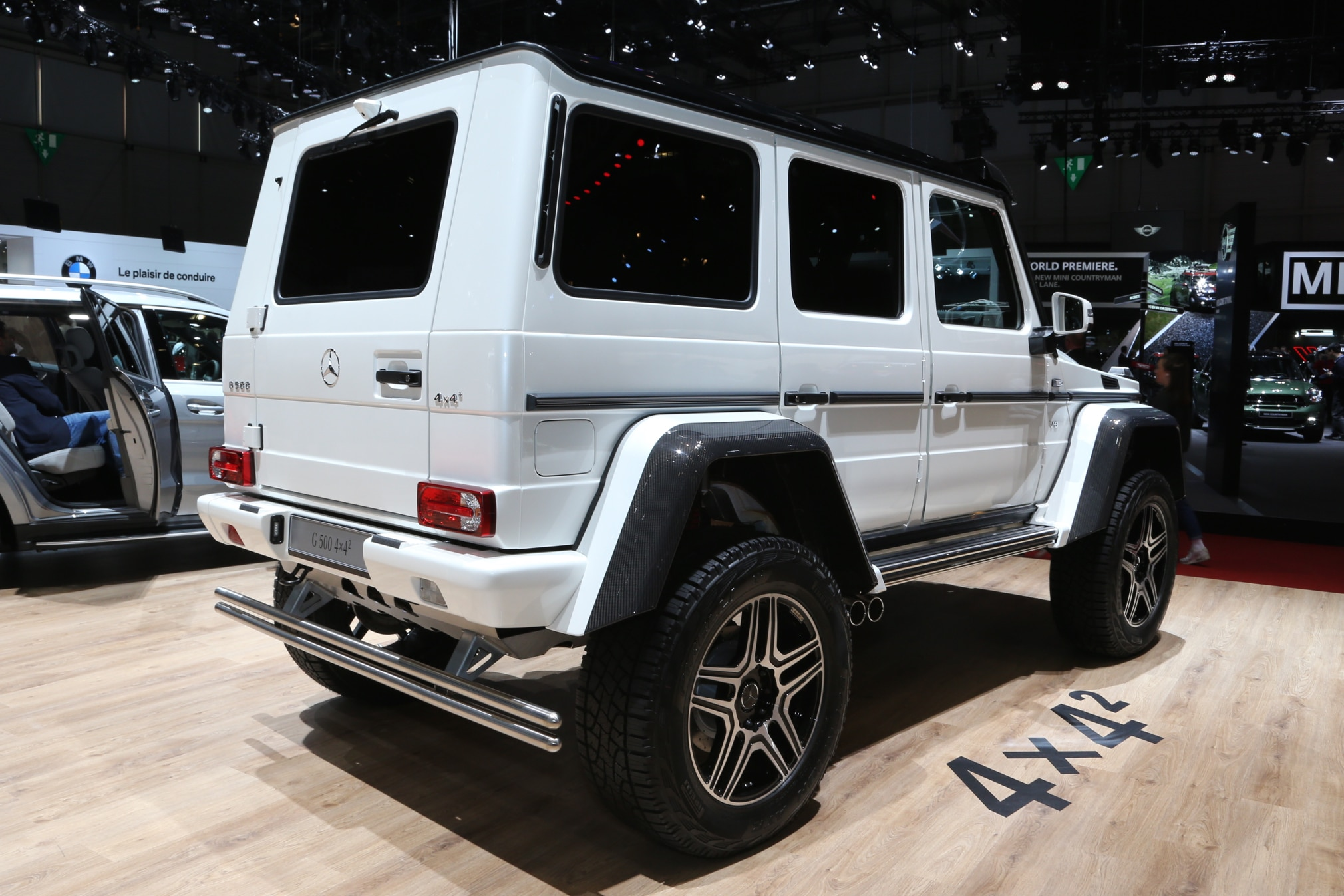 Mercedes benz g500 4x4 squared enters production costs for Mercedes benz 4x4 squared