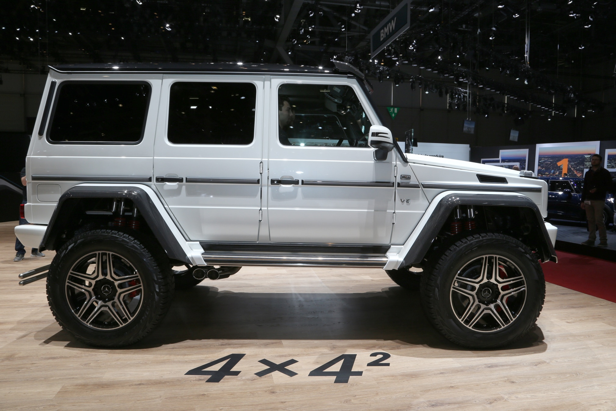 Mercedes benz g500 4x4 squared enters production costs for Mercedes benz g wagon squared