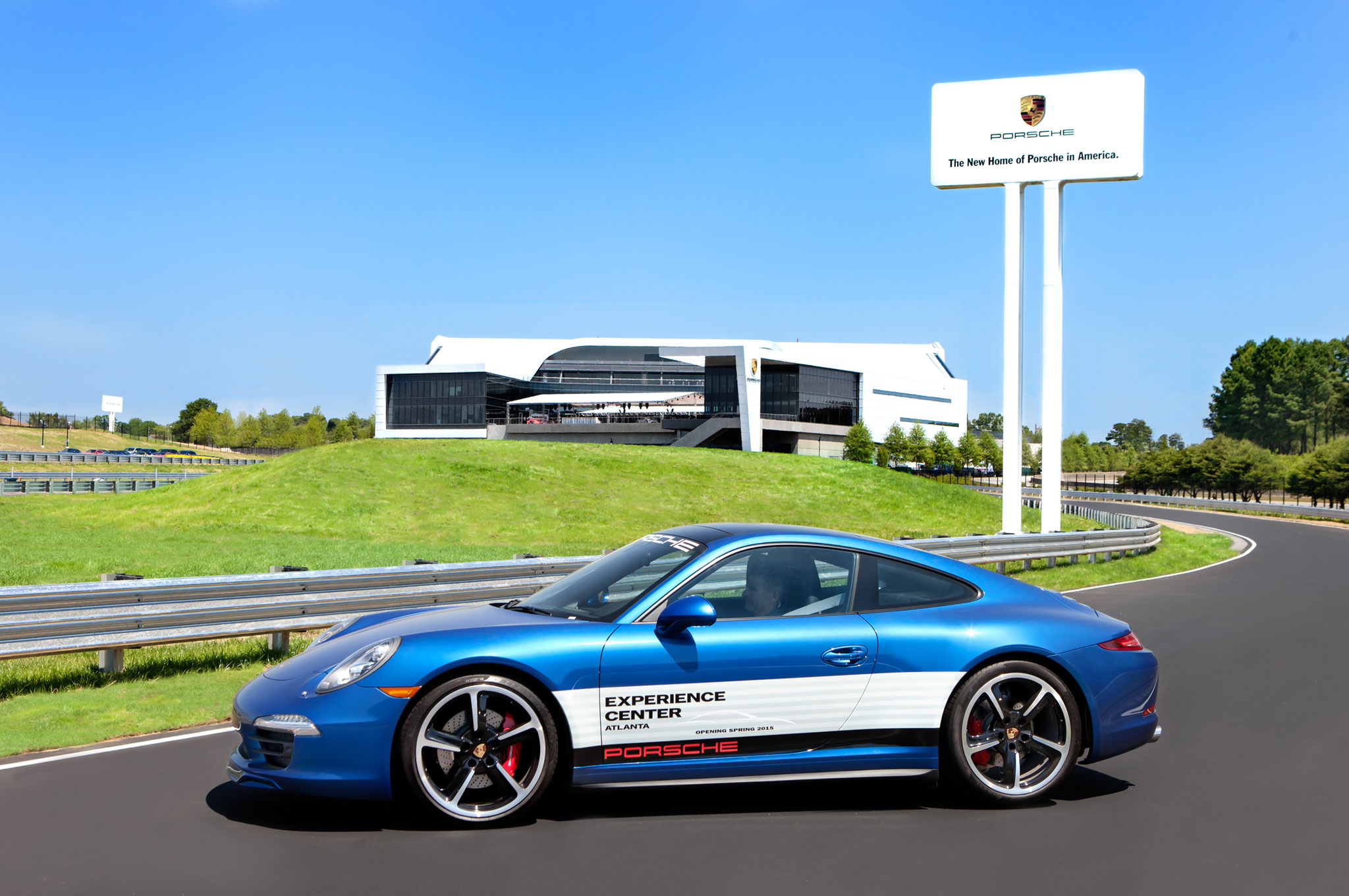 Testing Out The New Porsche Experience Center In Atlanta