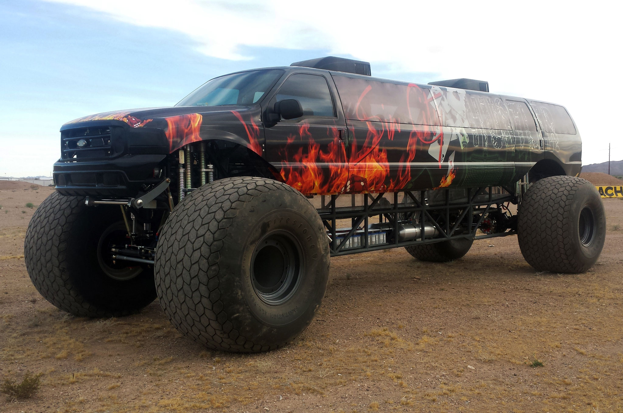 would you pay 1 million for a stretched ford excursion