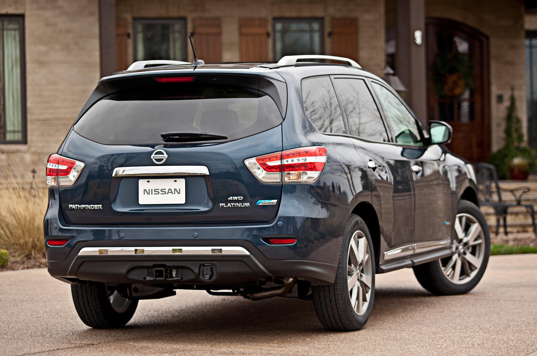 Nissan Pathfinder Hybrid Infiniti QX60 Hybrid Discontinued
