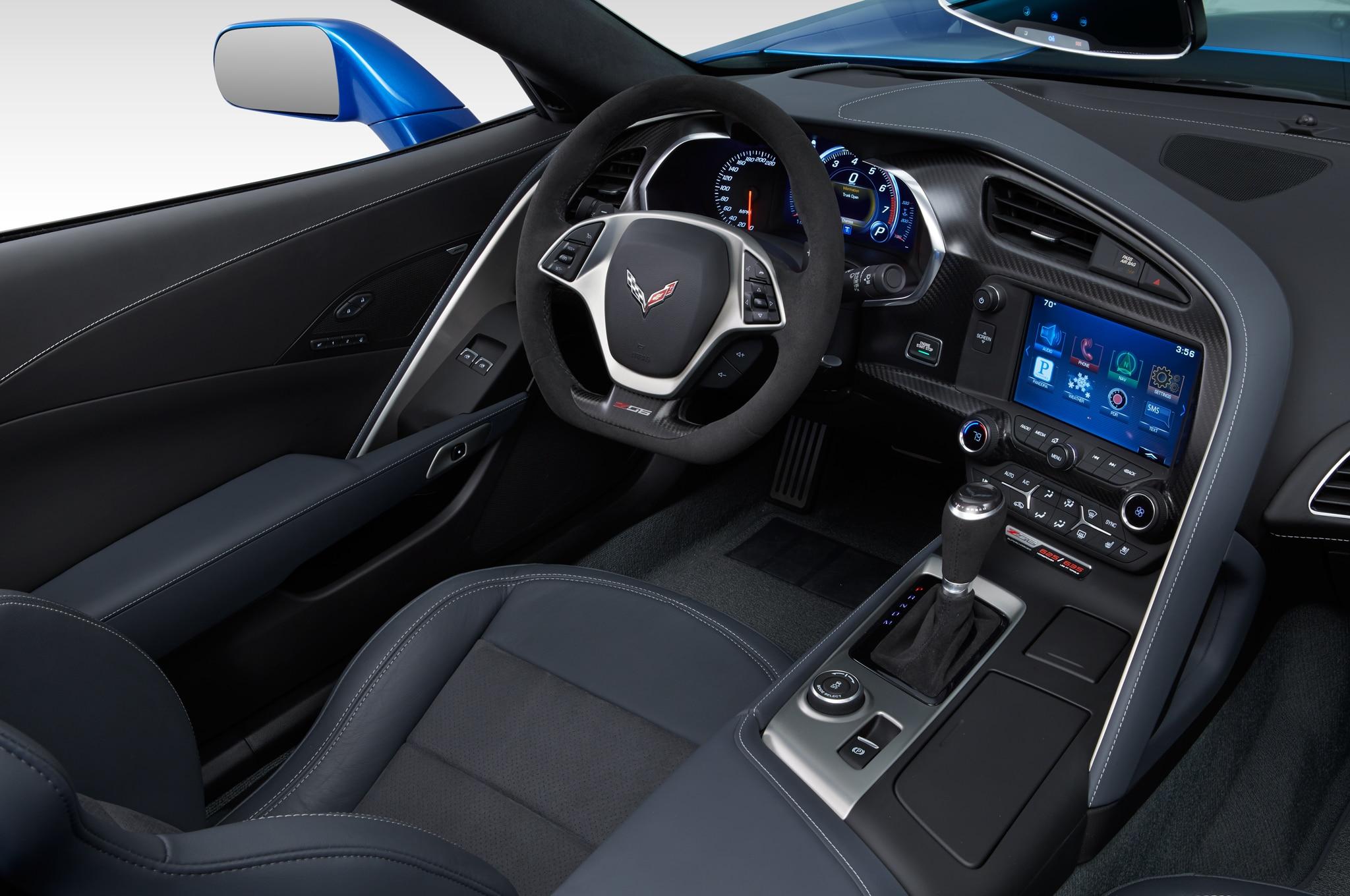 as - Corvette 2015 Z06 Black