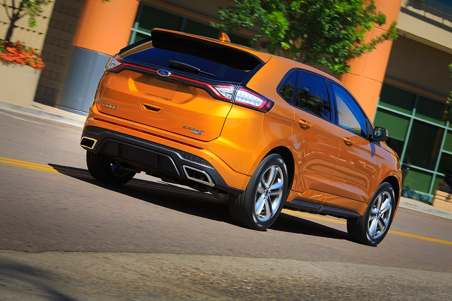 show more - 2015 Ford Edge Magnetic