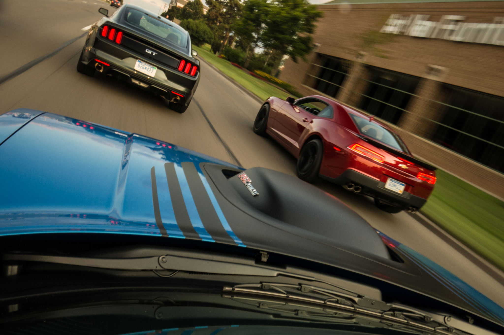 2015 Ford Mustang And 2015 Chevrolet Camaro And 2015 Dodge Challenger 03