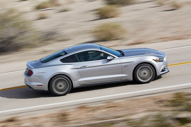 The New 2015 Ford Mustang Gets the Usual FirstYear Sales Boost