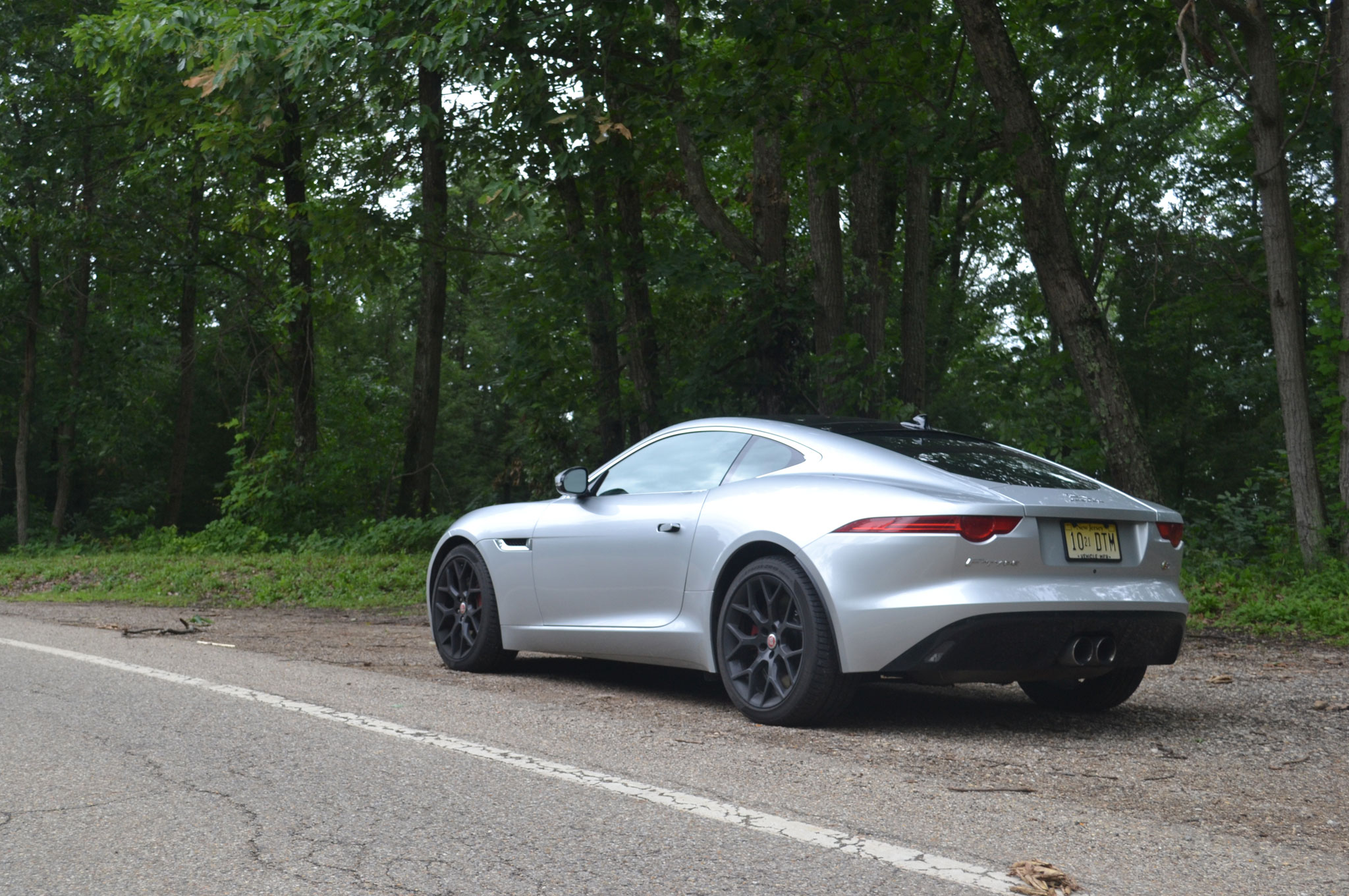 2015 jaguar f type s coupe showing its miles. Black Bedroom Furniture Sets. Home Design Ideas