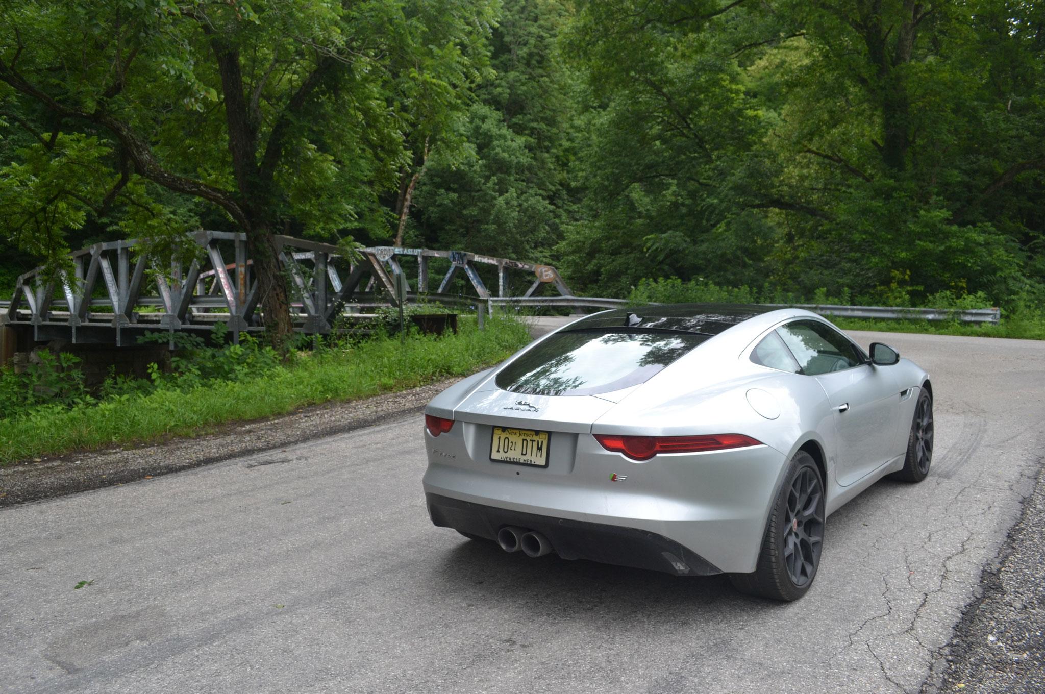 Jaguar FType S Coupe Showing Its Miles - 2015 jaguar f type