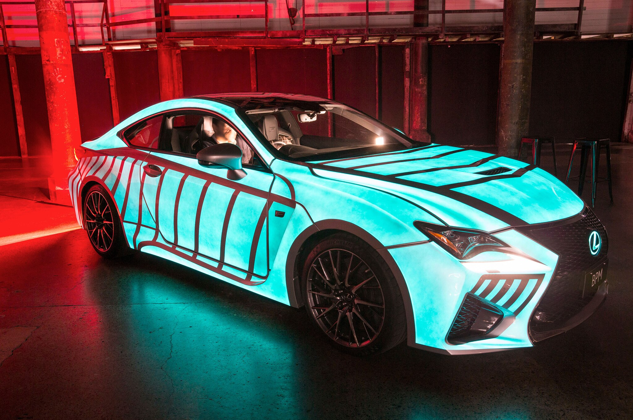2015 Lexus RC F Heartbeat Car Front Three Quarter 1