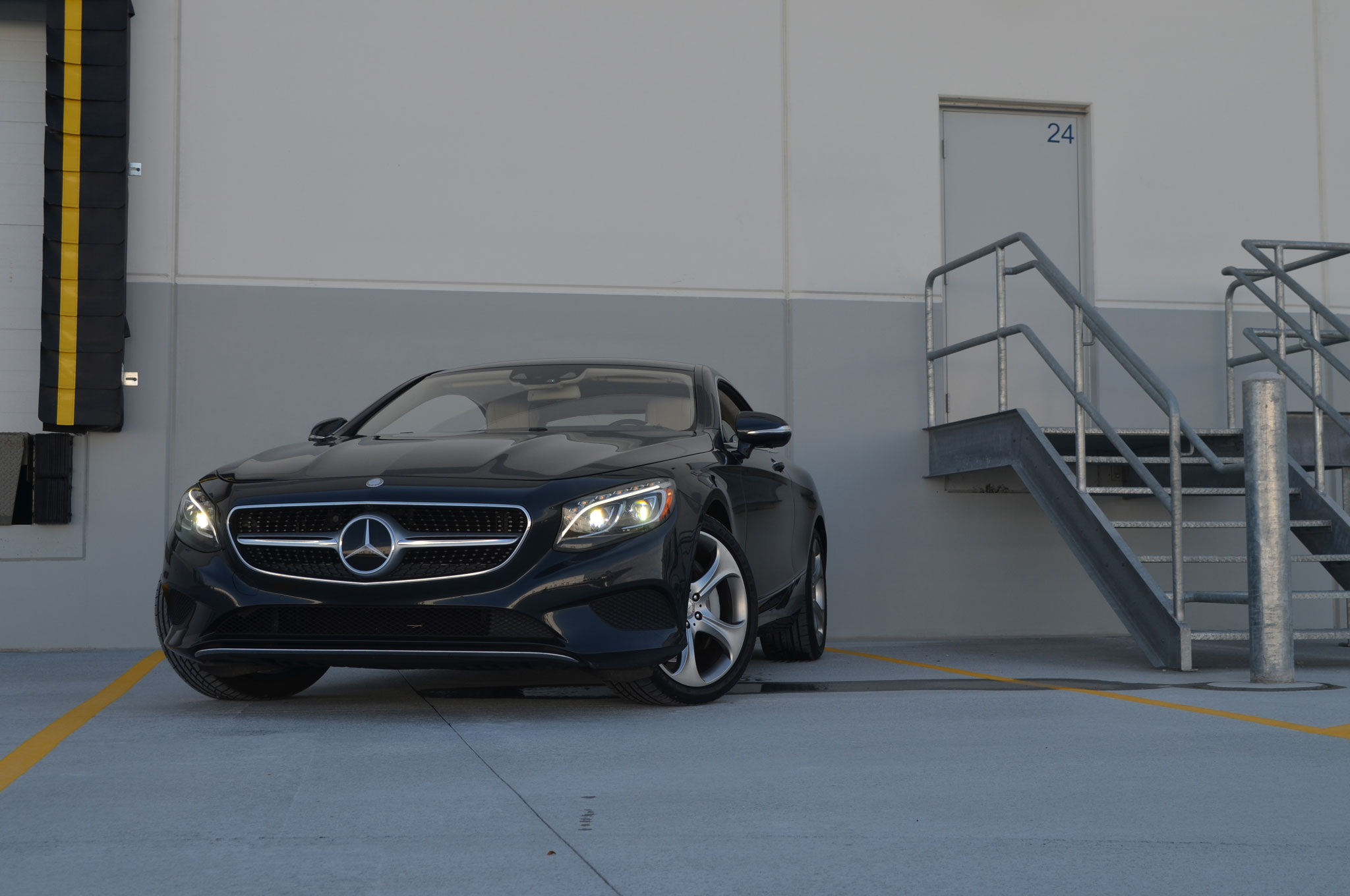2015 Mercedes Benz S550 Coupe Front End 02