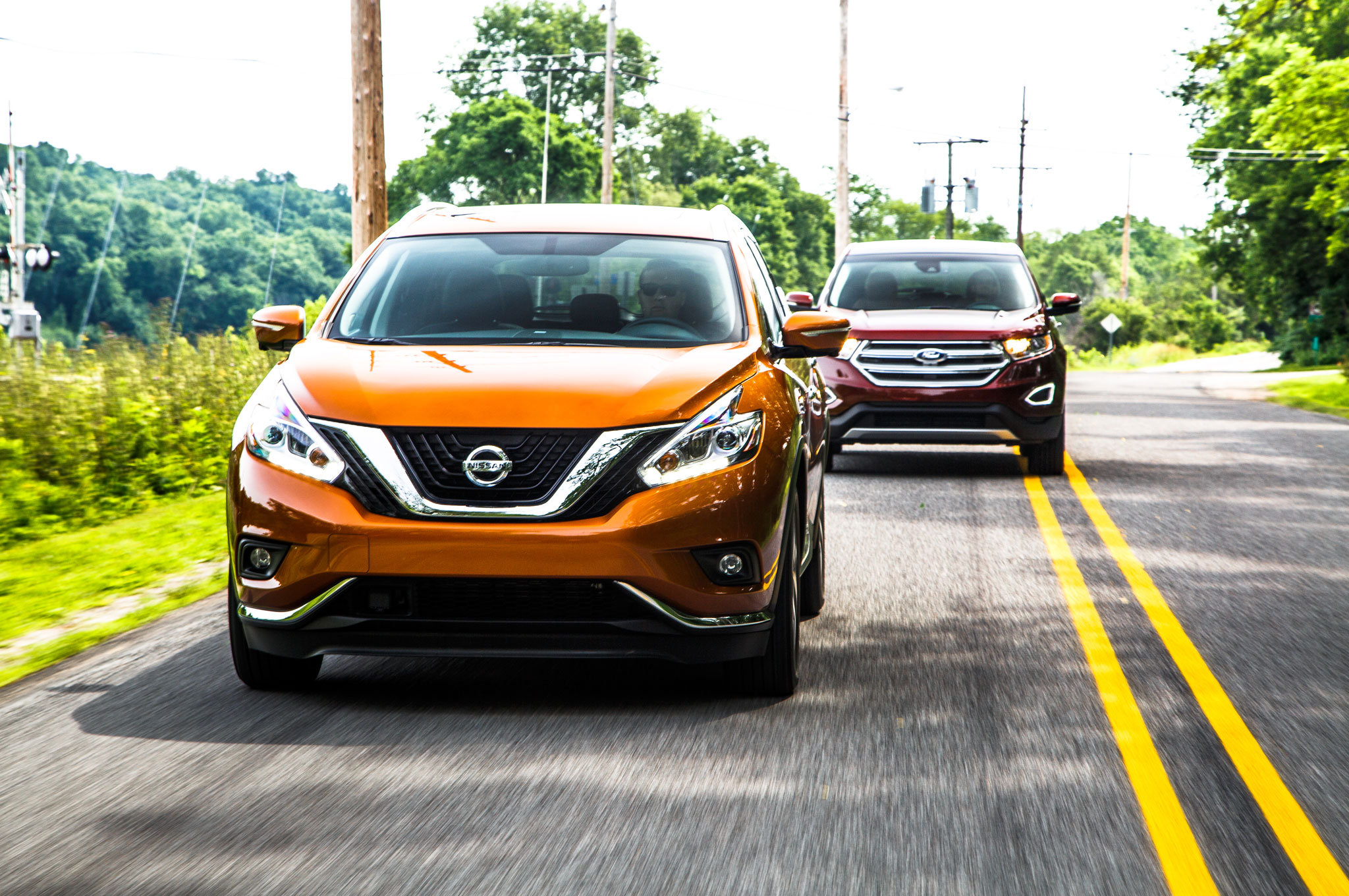 2015 Nissan Murano Vs 2015 Ford Edge Comparison 18