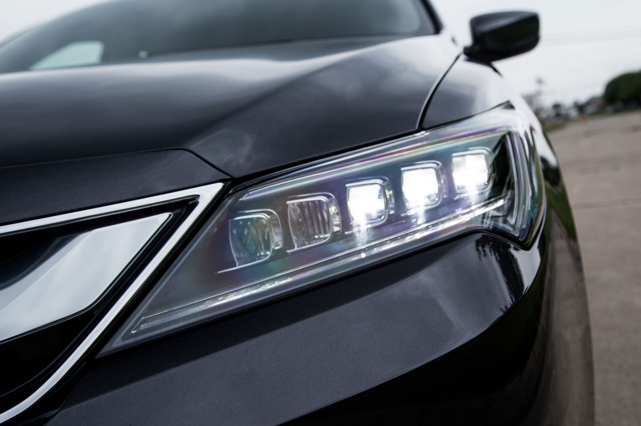 review acura graphite ilx luster