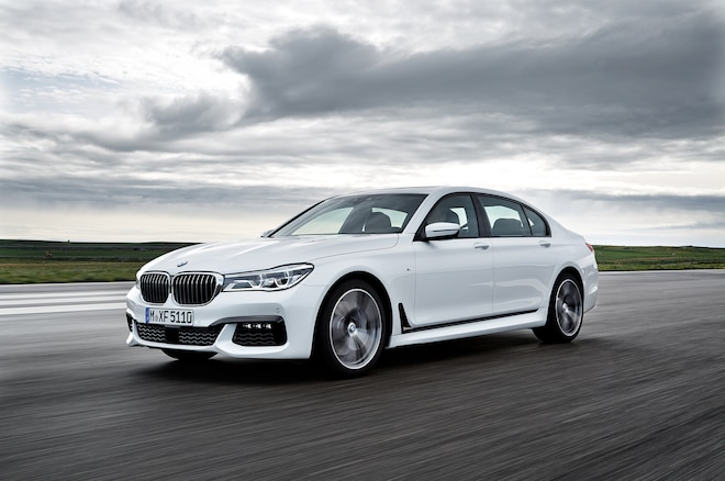Report BMW Developing QuadTurbo Diesel Engine for 7 Series