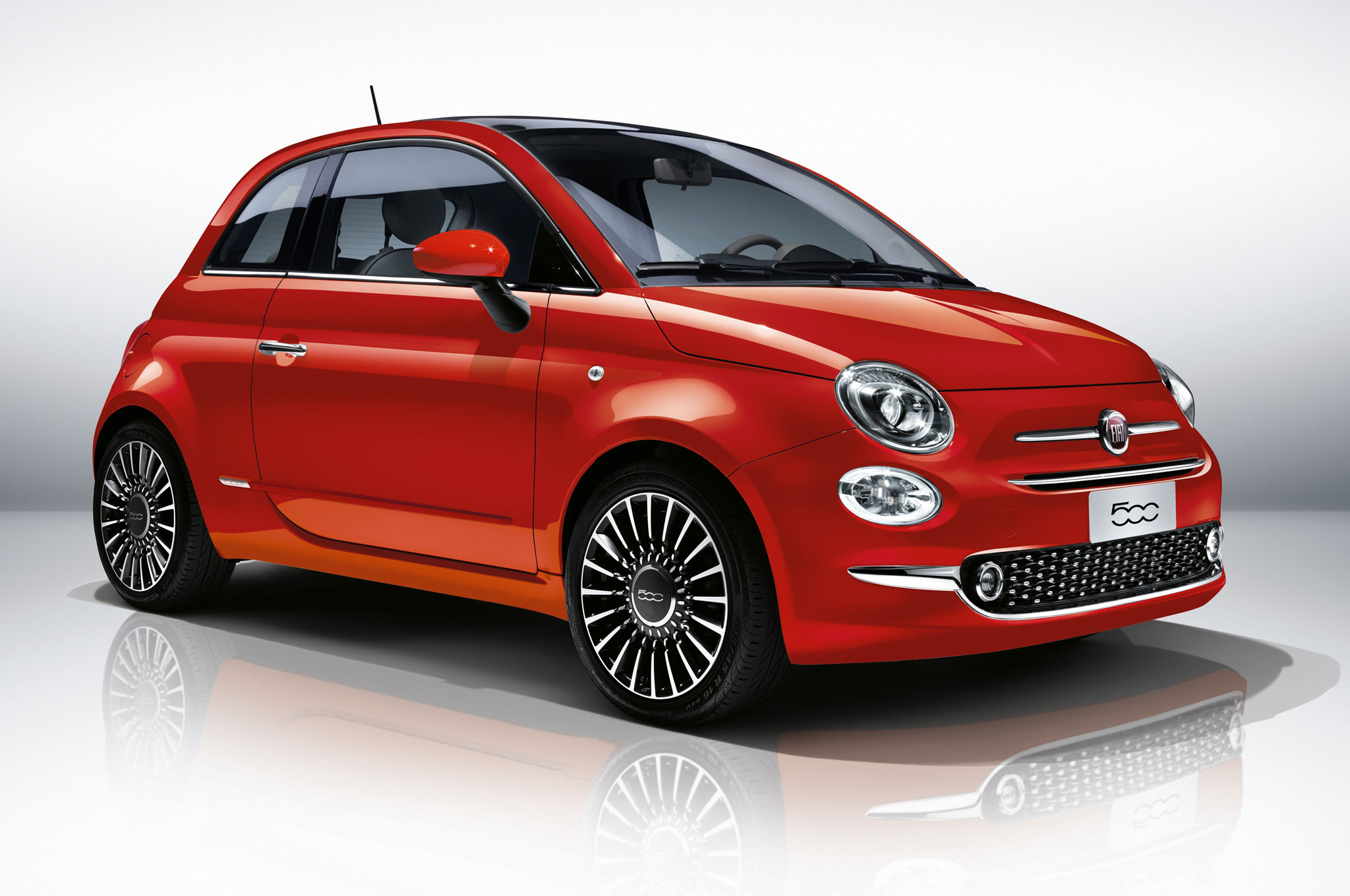 2016 fiat 500 refreshed with new look more efficient engines. Black Bedroom Furniture Sets. Home Design Ideas