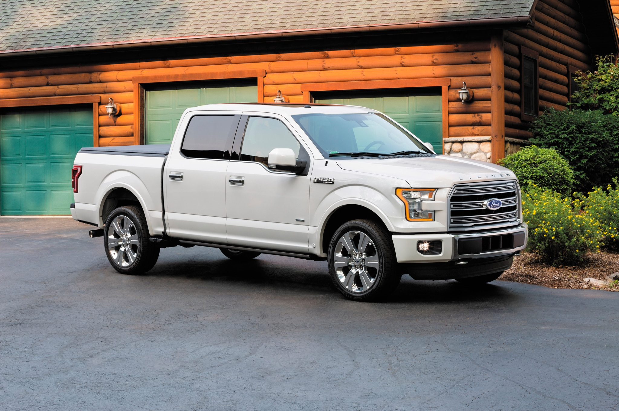 2016 ford f 150 adds fully loaded limited trim sync 3 infotainment. Black Bedroom Furniture Sets. Home Design Ideas