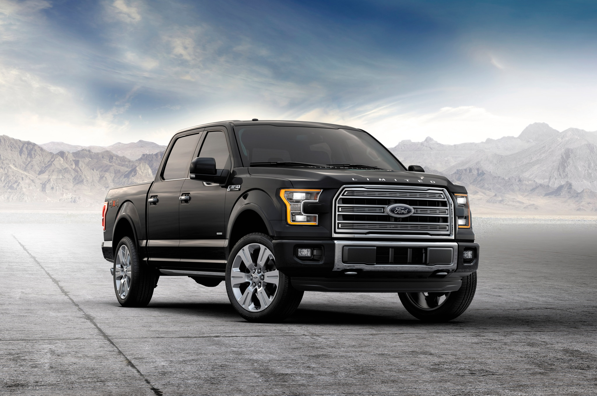 2016 ford f 150 adds fully loaded limited trim sync 3. Black Bedroom Furniture Sets. Home Design Ideas