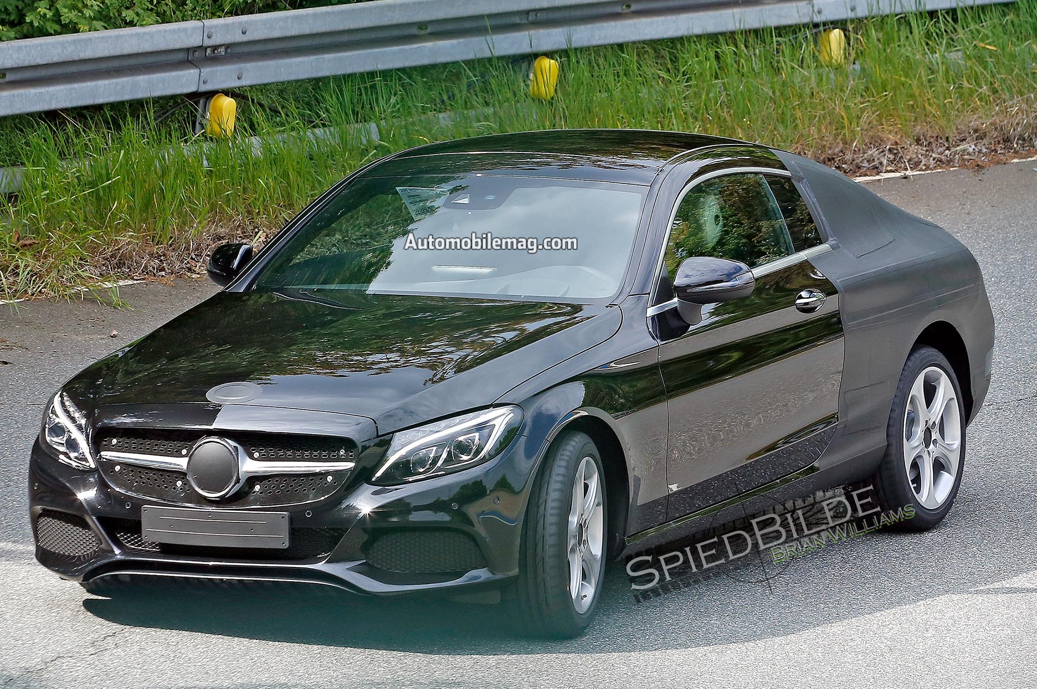 Report: 2016 Mercedes-Benz C-Class Coupe Sacrifices Space for Sport